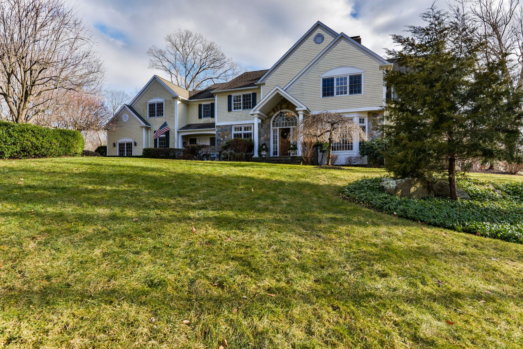 Single Family Home for Sale at Sweeping Views From Private Hilltop 7 Harvest Lane Weston, Connecticut 06883 United States