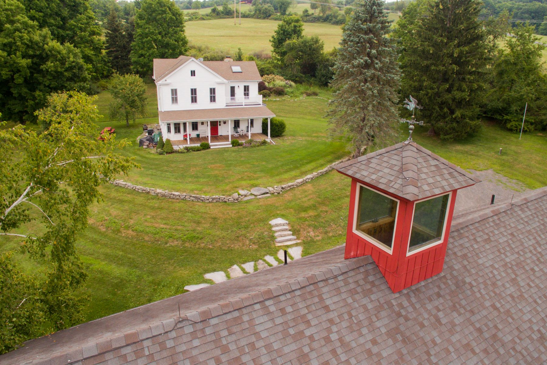 Single Family Home for Sale at Restored Farmhouse and Converted Barn on 50 plus Acres 153 Two Town Rd Hillsdale, New York 12529 United States