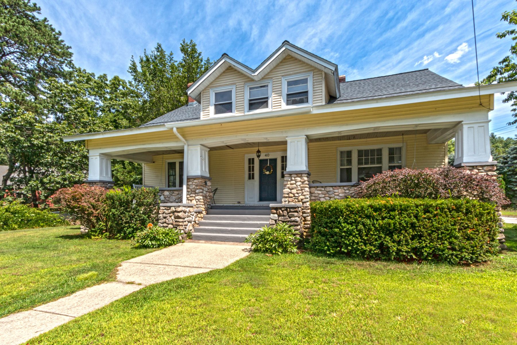 Single Family Homes for Sale at Completely Renovated Bungalow! 40 Main Street Sterling, Connecticut 06377 United States