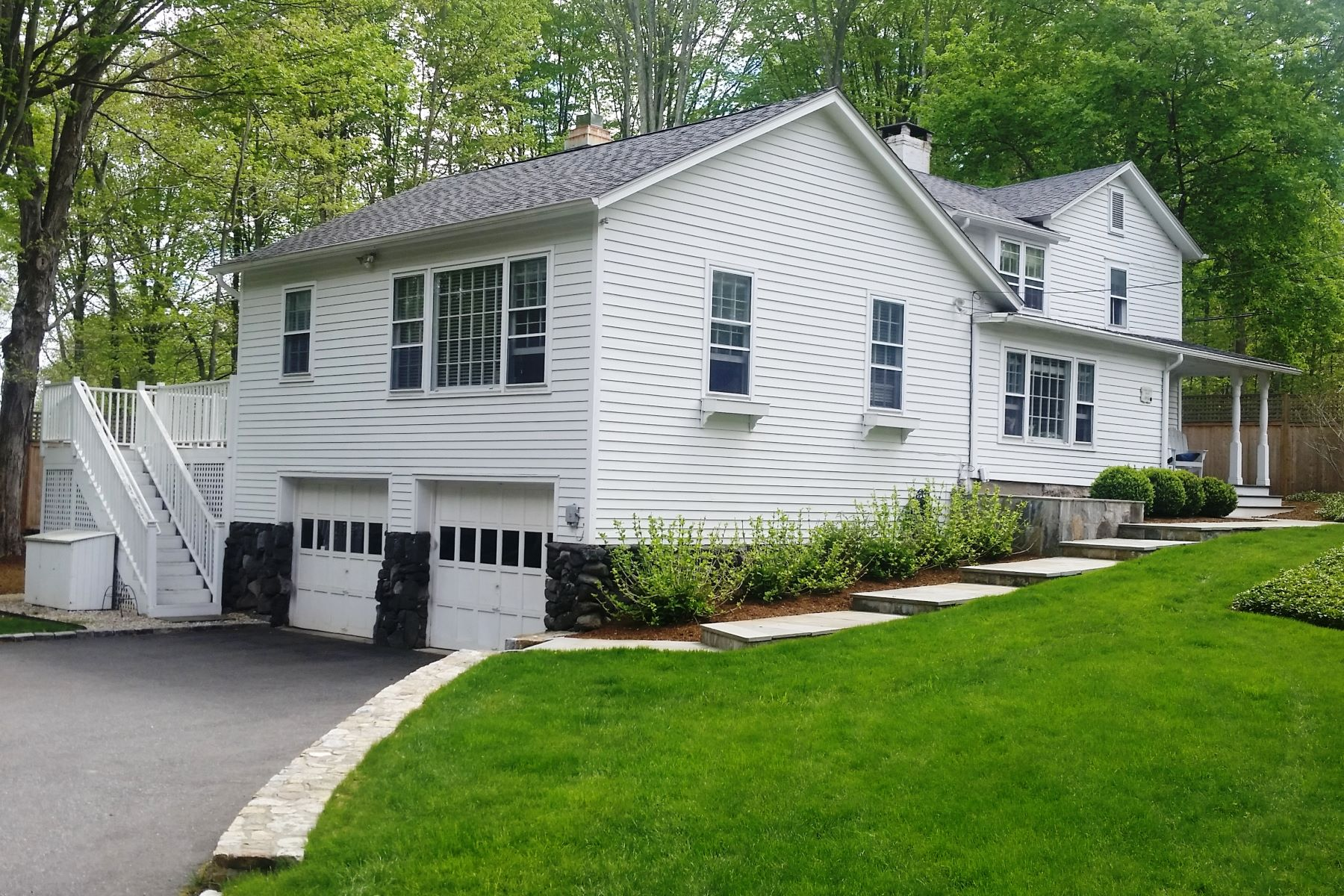Single Family Homes for Sale at Delightful Antique with Personality 35 Cedar Road Wilton, Connecticut 06897 United States