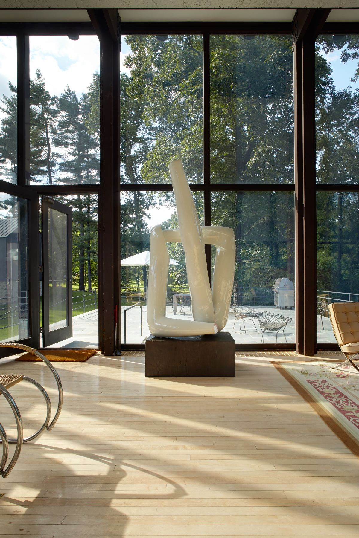 Additional photo for property listing at Stunning Philip Johnson Modern 218 Sleepy Hollow Road New Canaan, Connecticut 06840 Estados Unidos