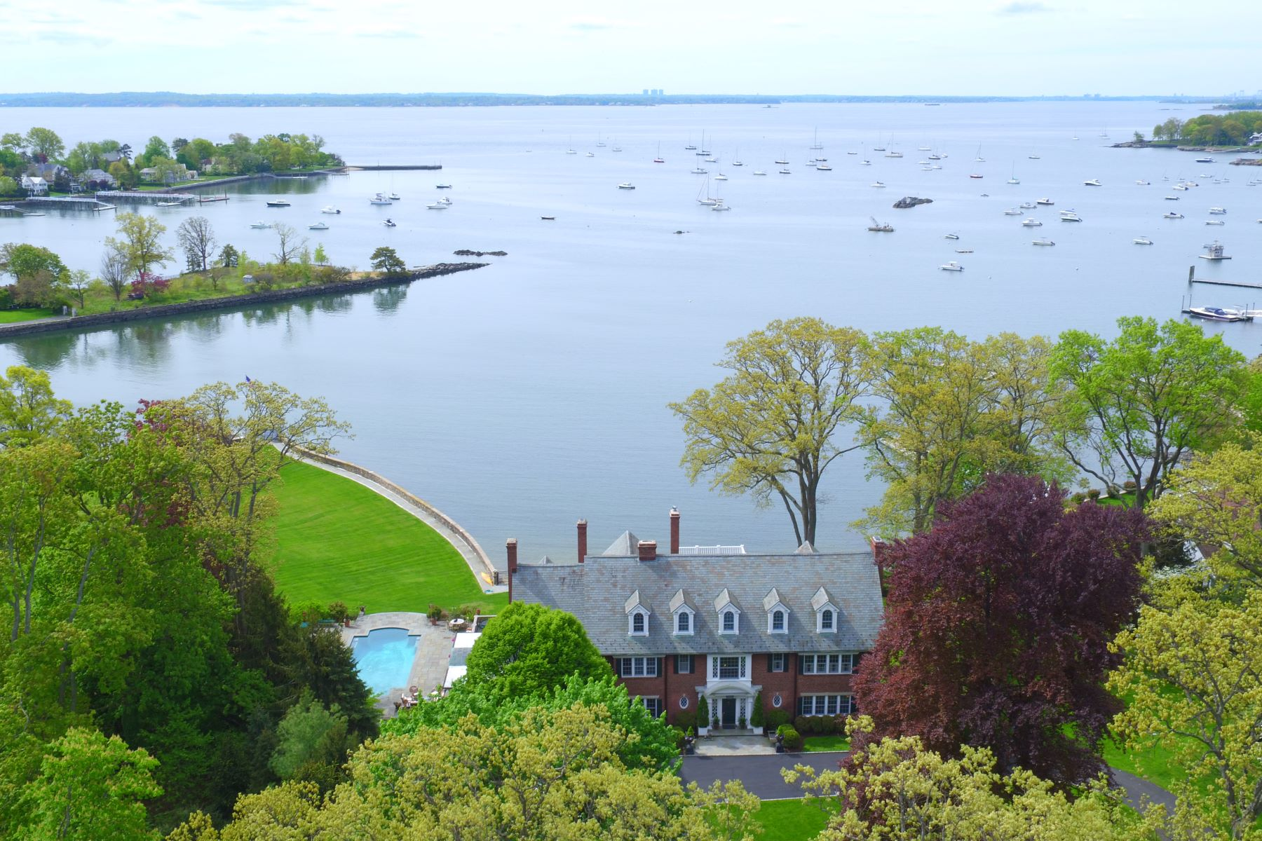 House for Sale at Bliss on the Larchmont Waterfront 203 Hommocks Road Larchmont, New York 10538 United States