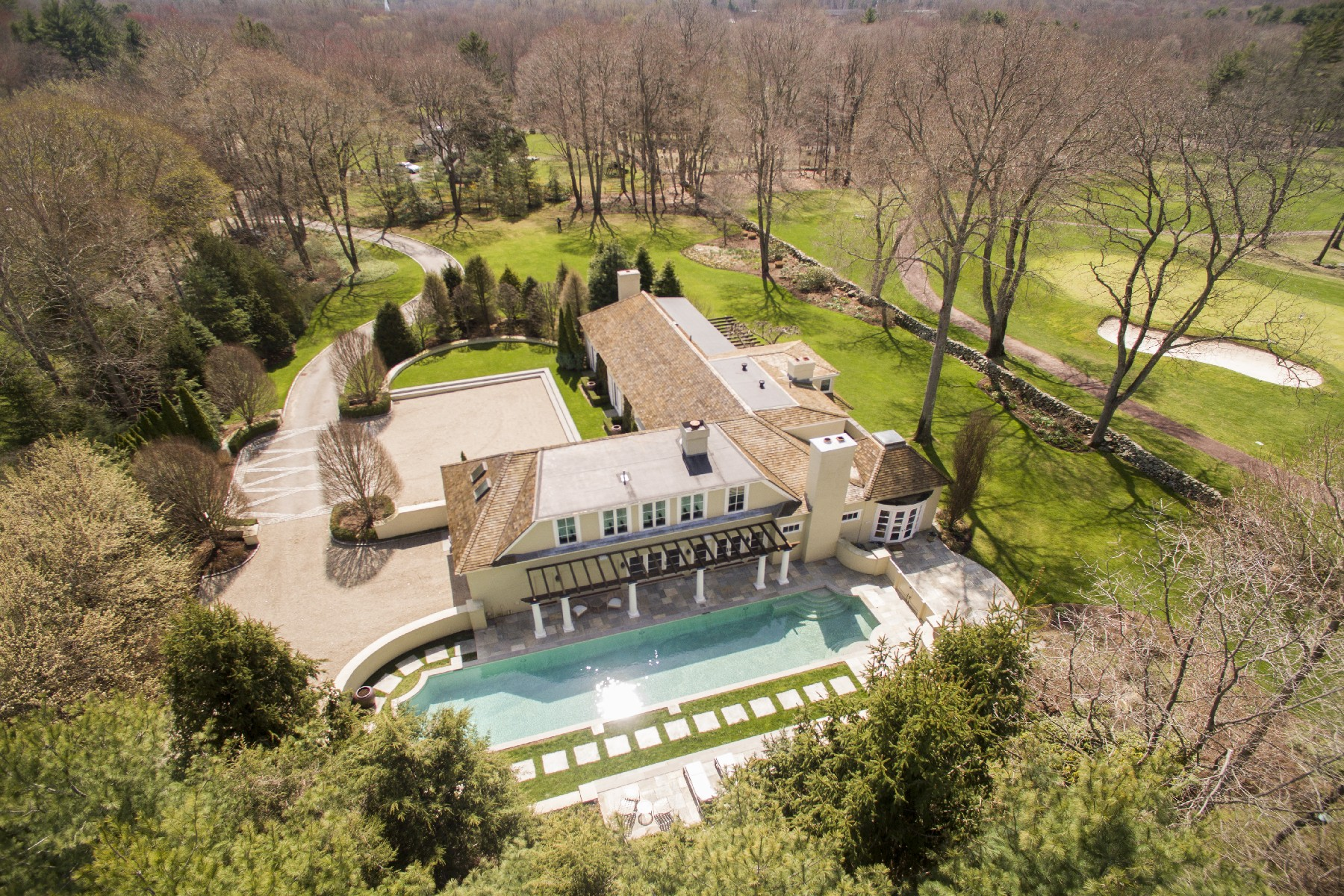 Single Family Home for Sale at The Art Of Living 3 Althea Lane Darien, Connecticut, 06820 United States