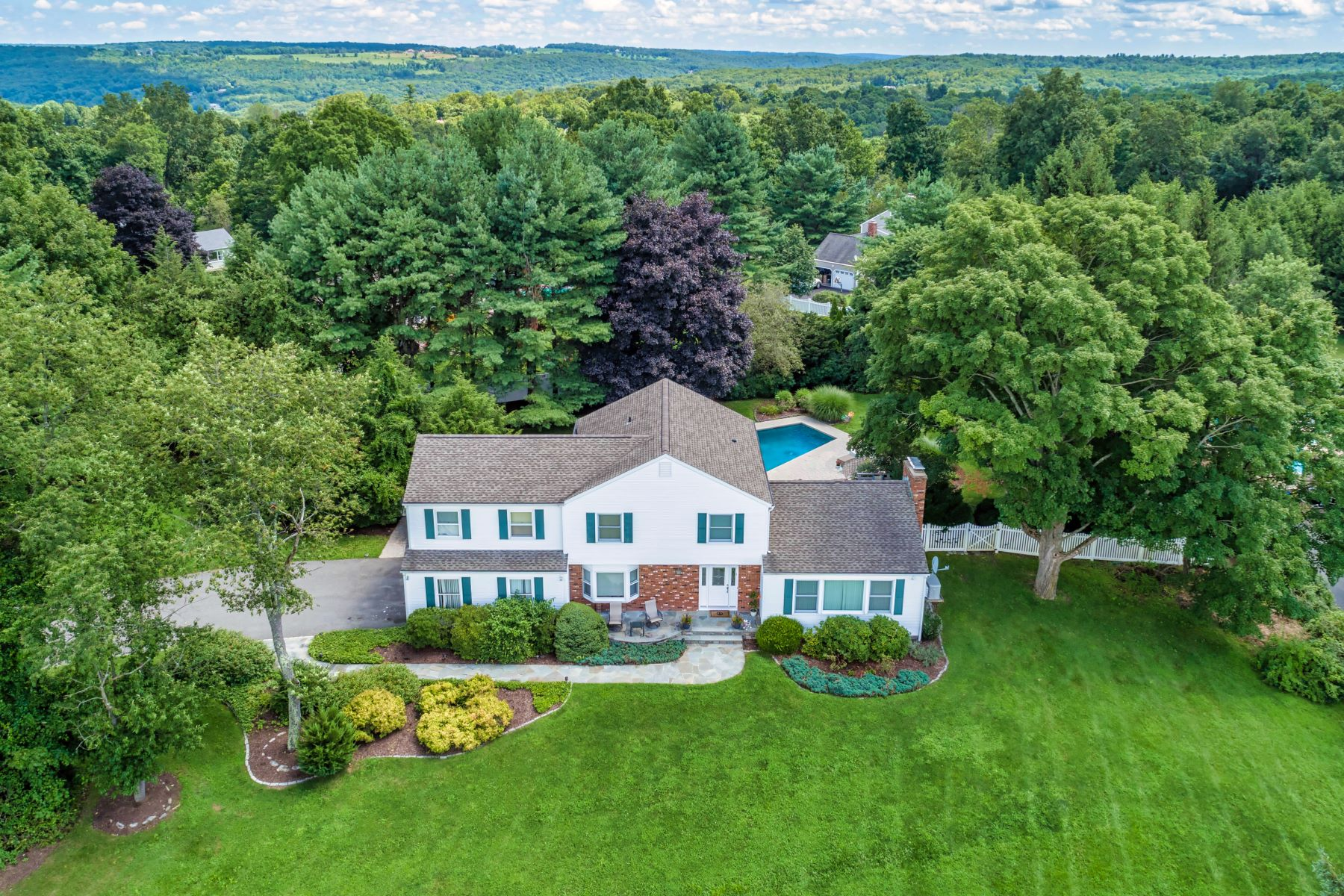 single family homes for Sale at Understated Elegance And Distinctive Design 24 Shamrock Drive, Brookfield, Connecticut 06804 United States