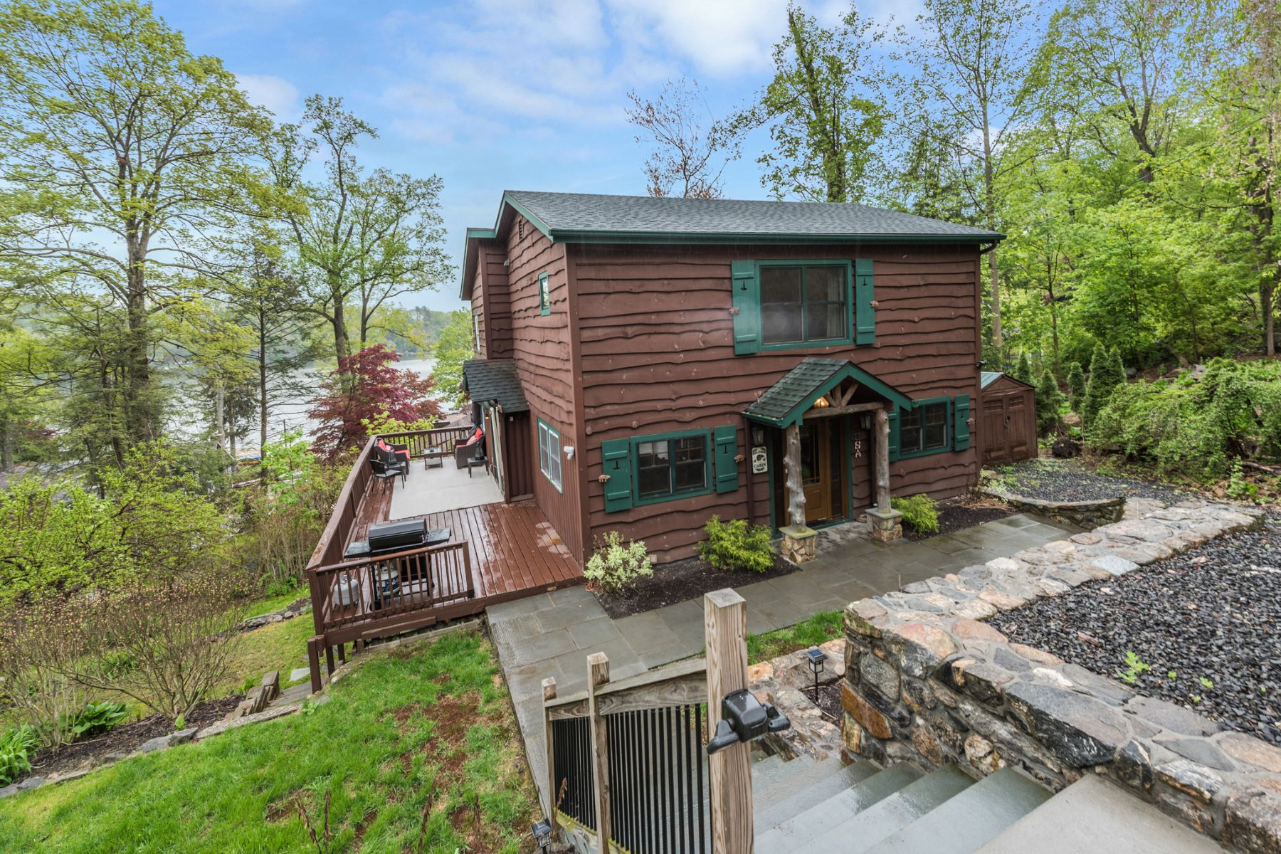 single family homes for Sale at Custom Year Round Adirondack Style Cabin 5 Glenway, New Fairfield, Connecticut 06812 United States