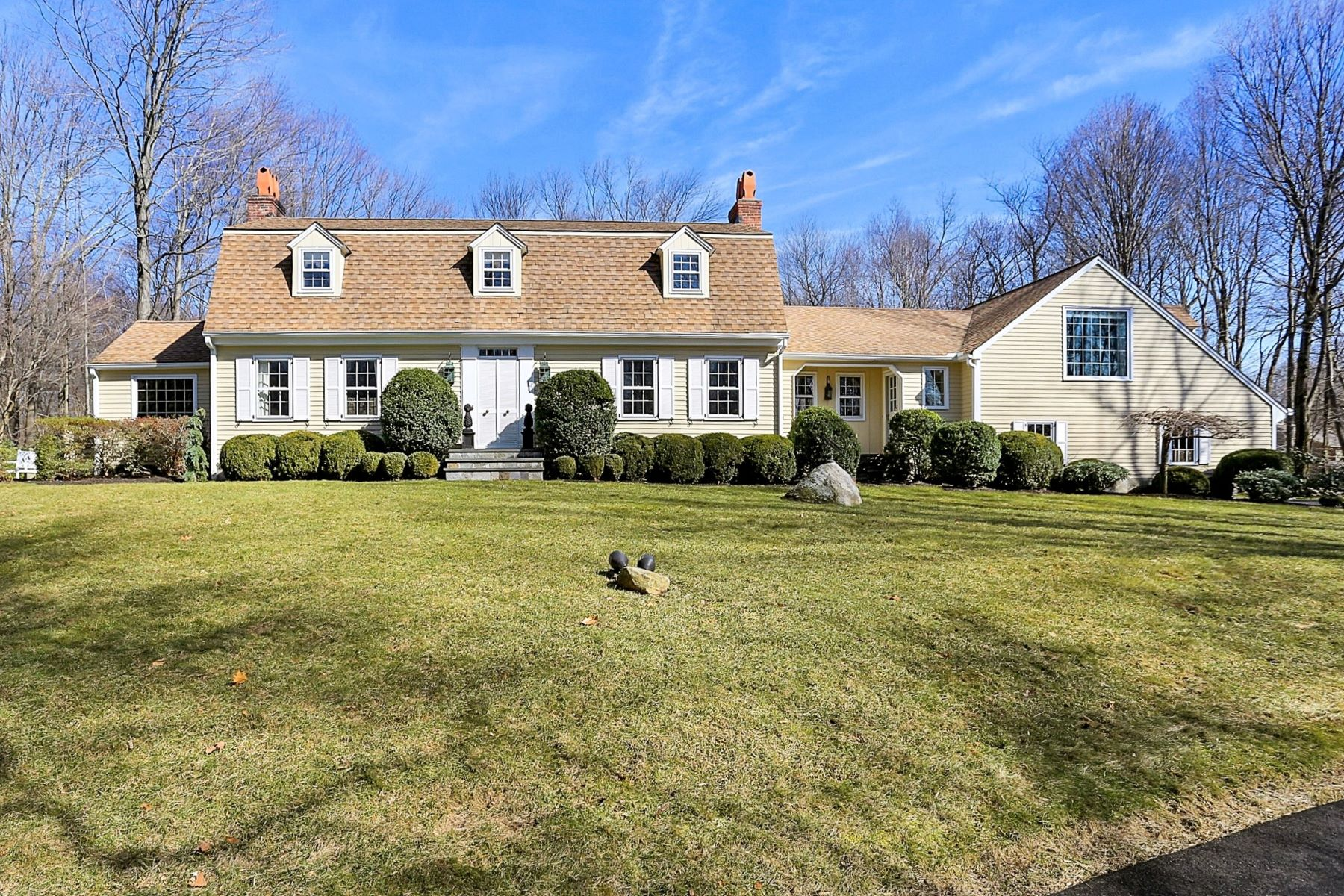 Single Family Home for Sale at 1 Thankful Bradley Road Redding, Connecticut, 06896 United States