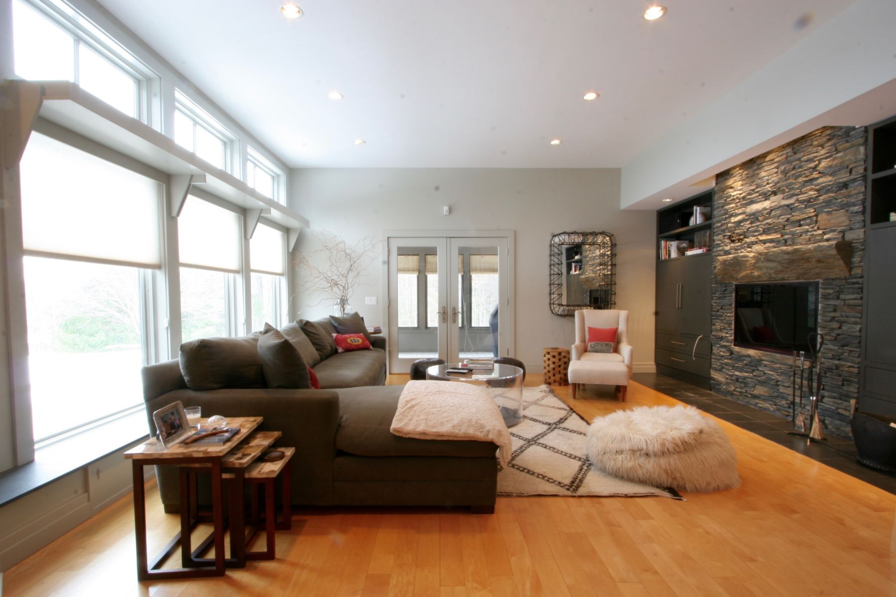 Single Family Home for Rent at Stunning Contemporary with Big Views 54 Crooked Hill Rd Alford, Massachusetts, 01230 United States