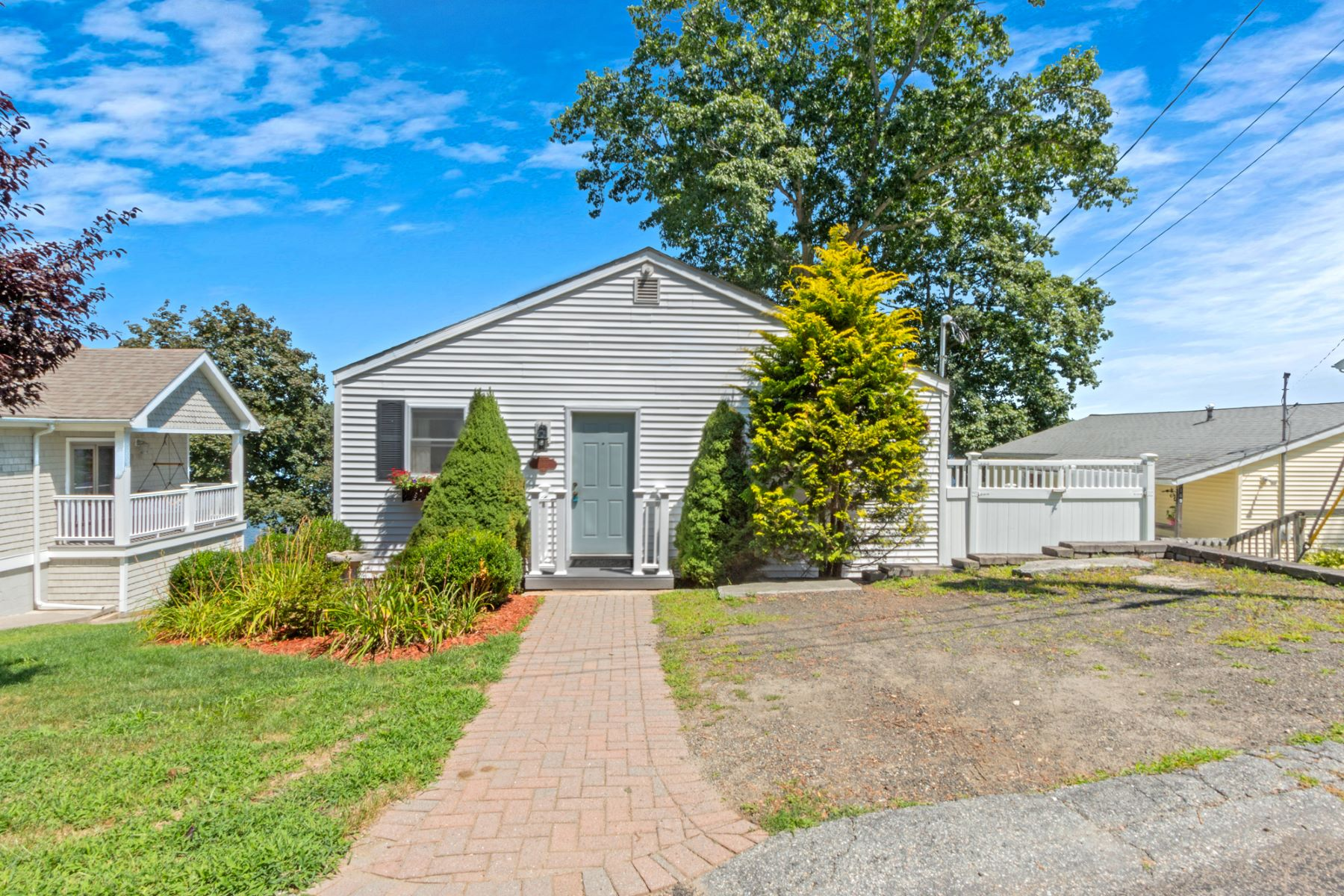 Single Family Homes for Sale at Waterfront Living on Beach Pond! 165 Bennett Rd Voluntown, Connecticut 06384 United States