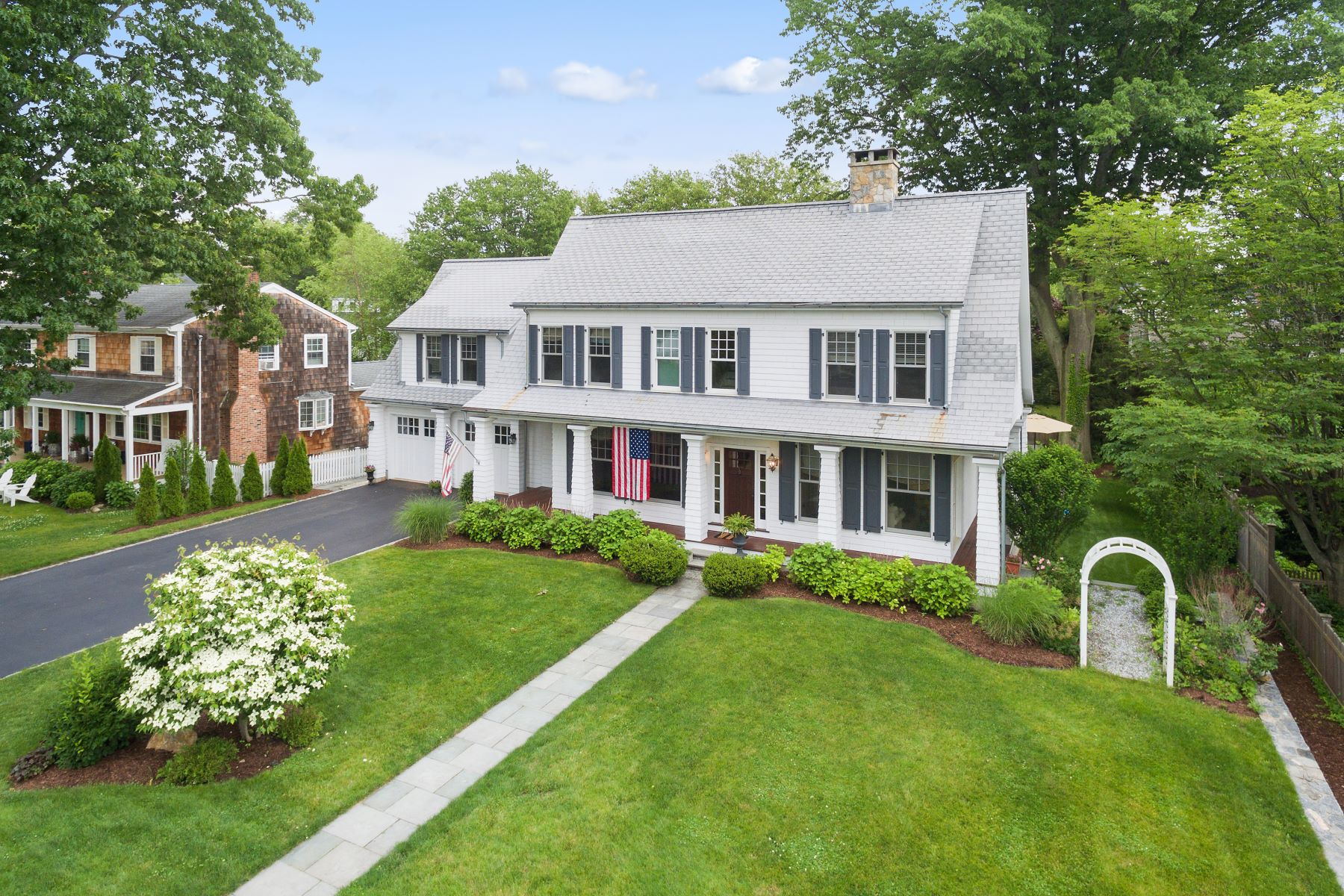 Single Family Homes for Sale at Beach Area Classic 77 Fern Street, Fairfield, Connecticut 06824 United States
