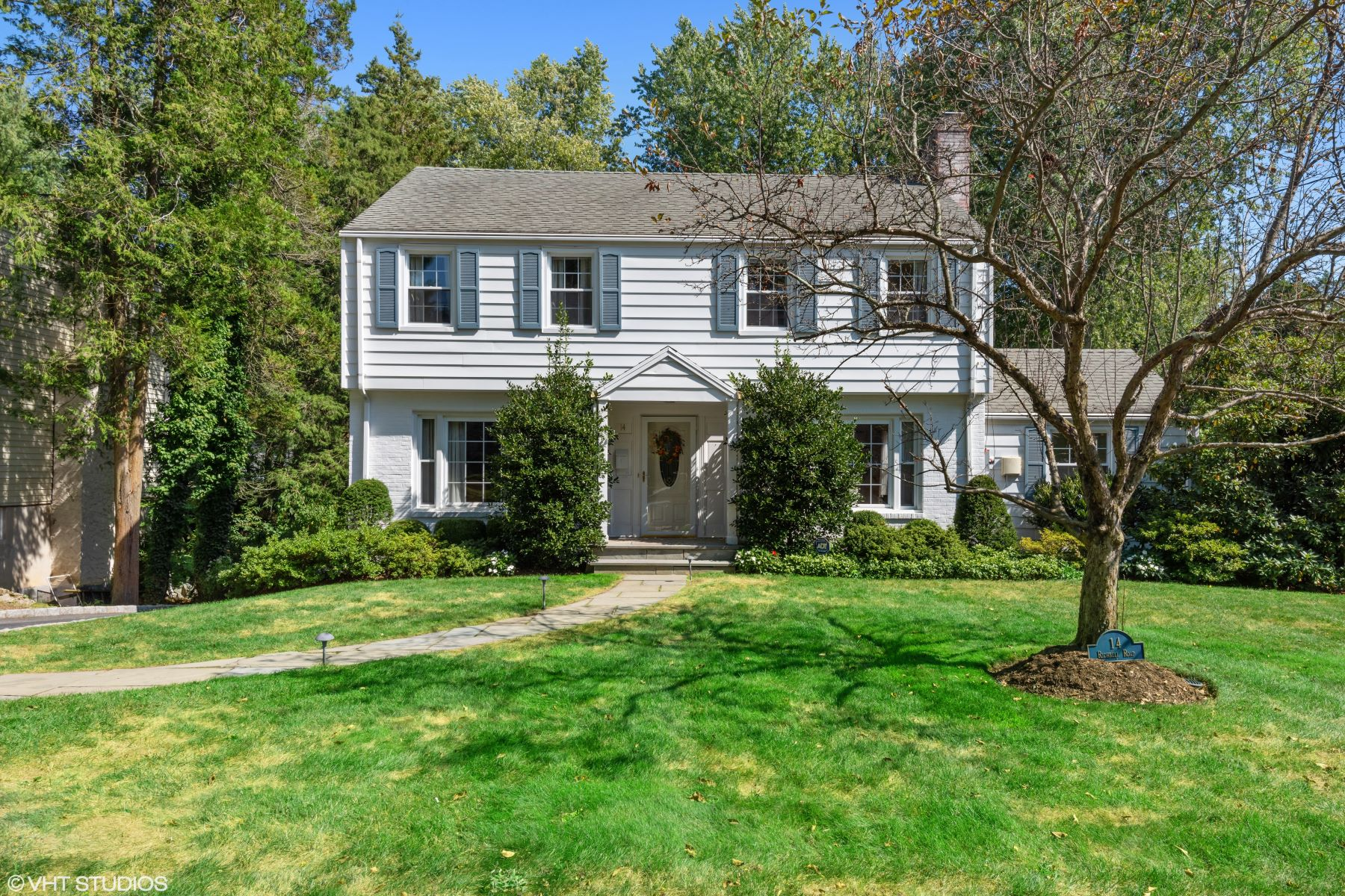 for Sale at Lovely Center Hall Colonial Home 14 Richbell Road White Plains, New York 10605 United States