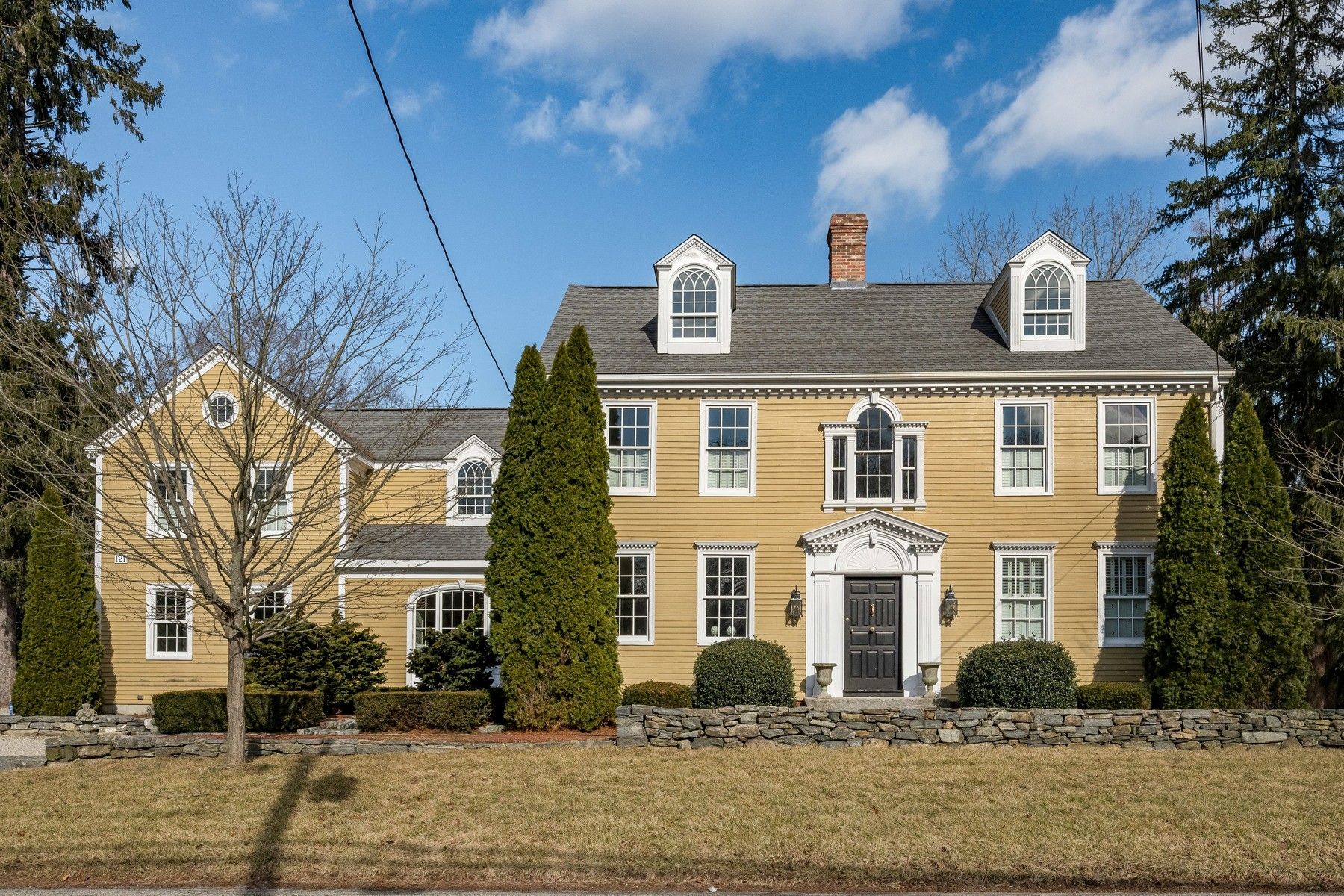 "Single Family Homes for Sale at The Stately ""Milestone House"" Circa 1802 121 Saybrook Road Essex, Connecticut 06426 United States"