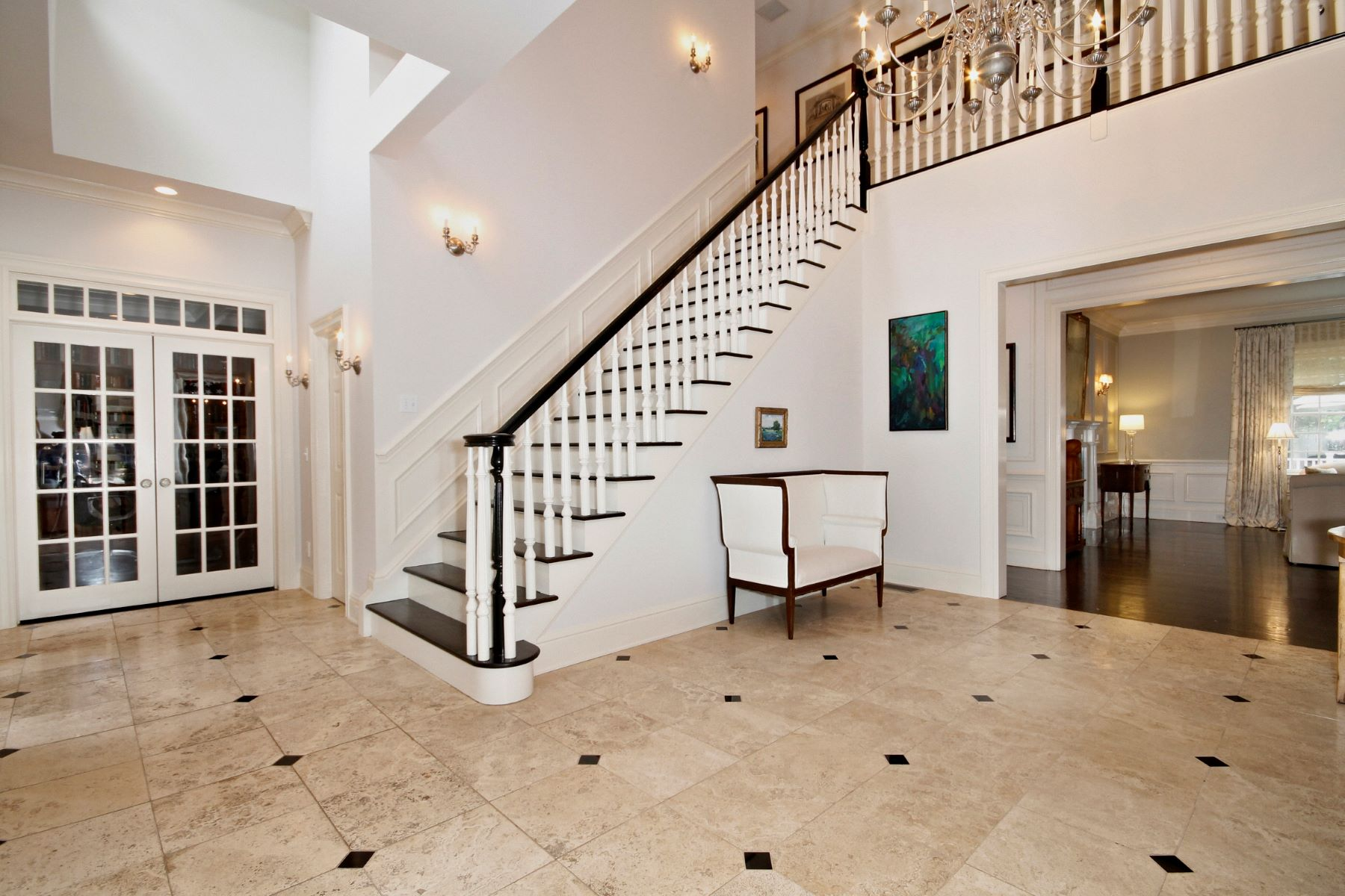 single family homes for Sale at Stately Custom Colonial Represents Sophisticated Elegance 77 Bayberry Lane, Westport, Connecticut 06880 United States