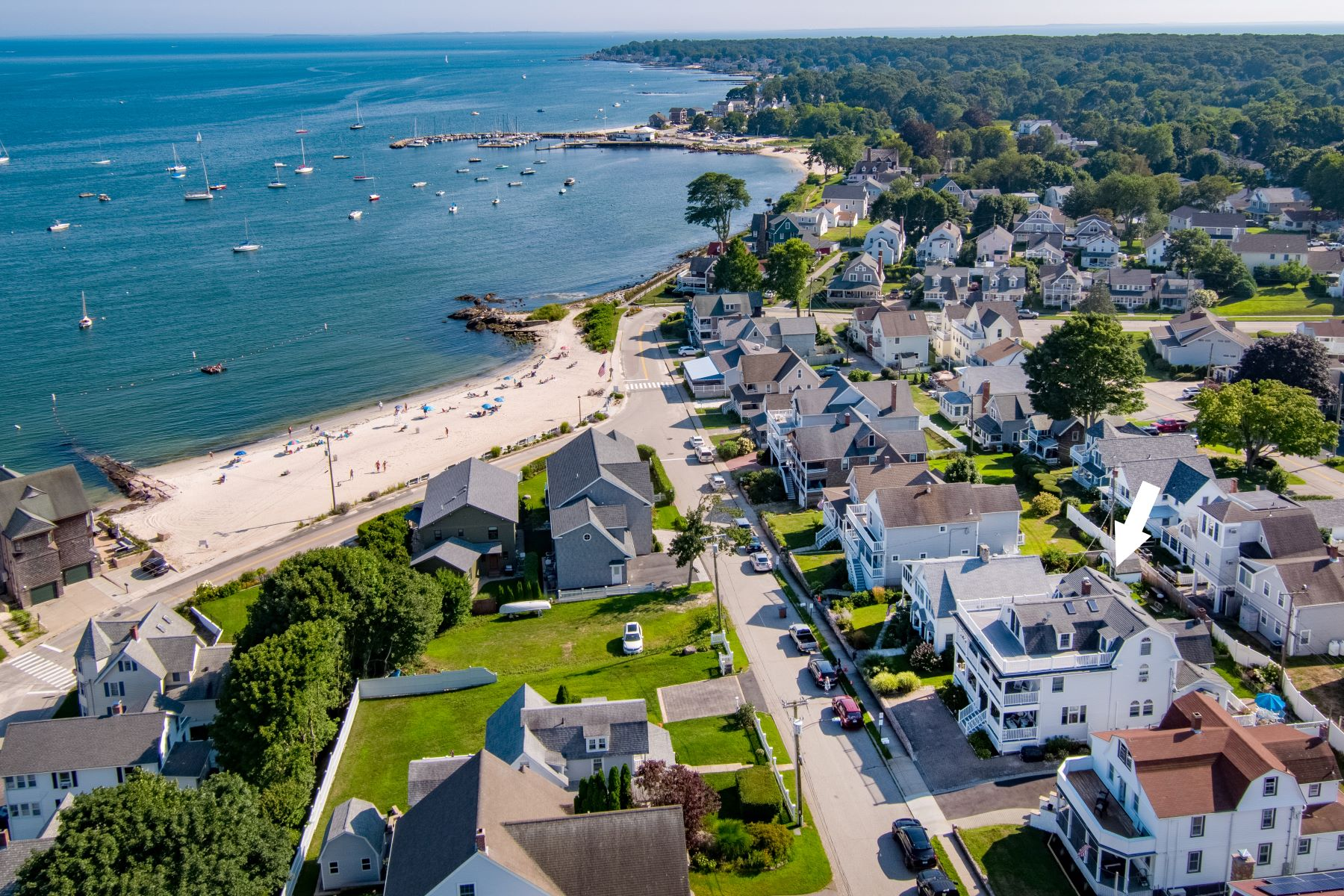 Single Family Homes for Sale at Views! Views! Views! 21 Bayview Avenue East Lyme, Connecticut 06357 United States
