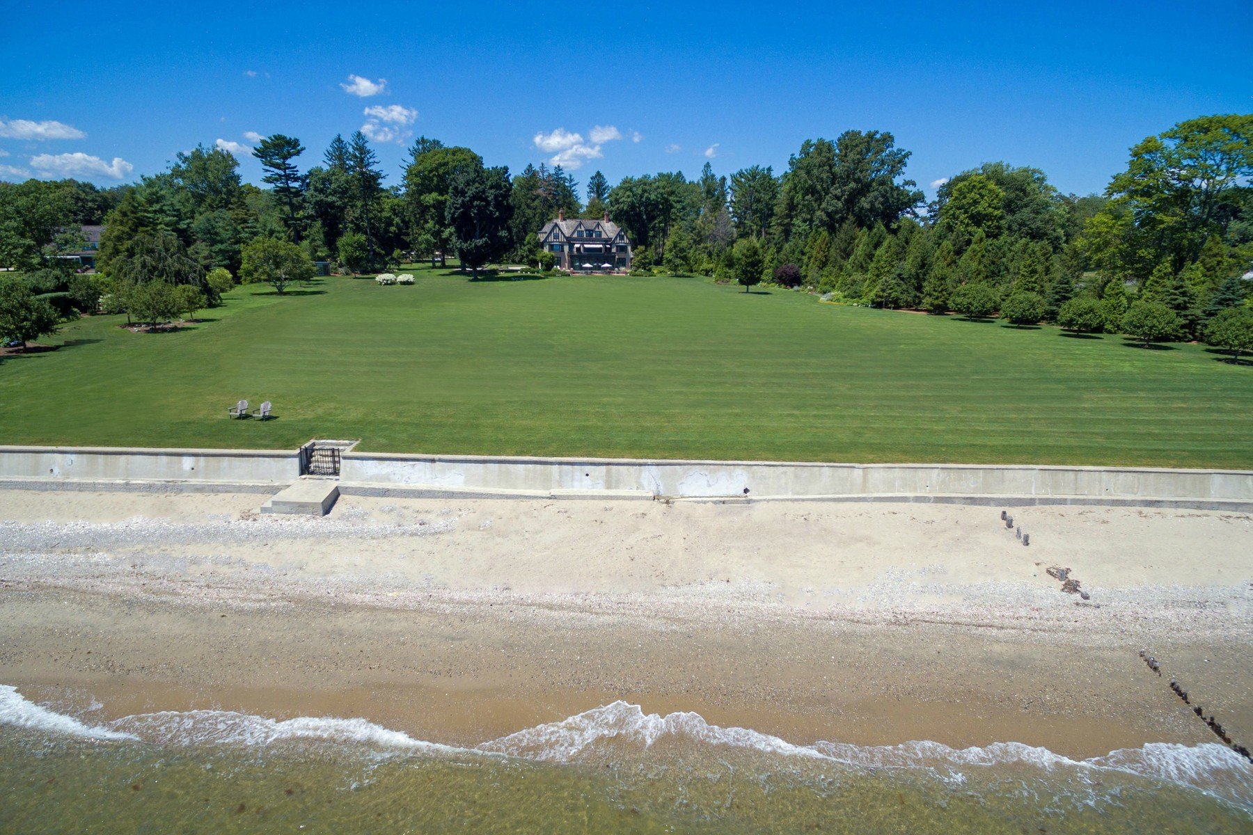 Single Family Home for Sale at MAGNIFICENT GOLD COAST ESTATE 114 Beachside Avenue Westport, Connecticut, 06880 United States
