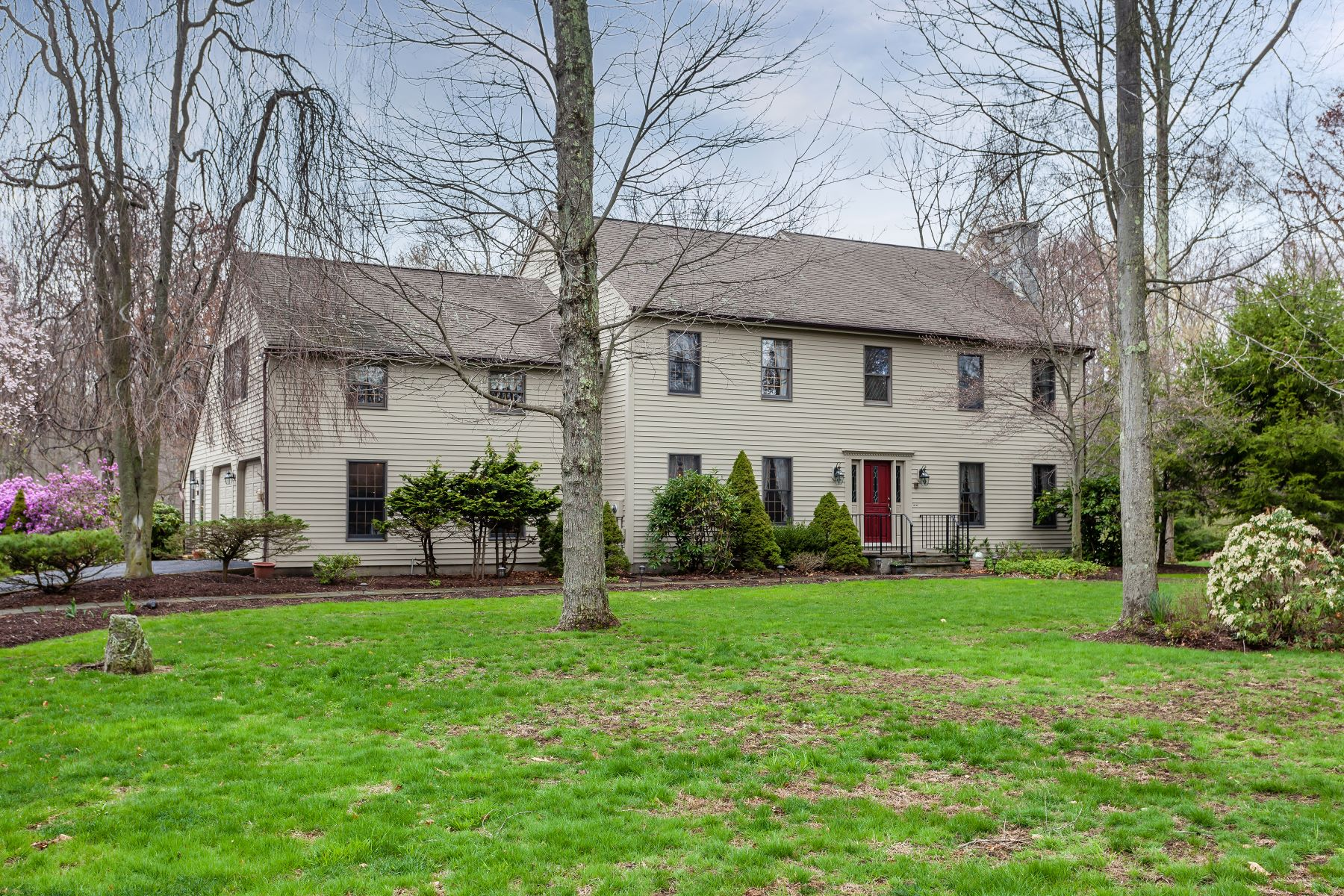 Single Family Home for Sale at Country Colonial 6 Twin Ridge New Milford, Connecticut 06776 United States