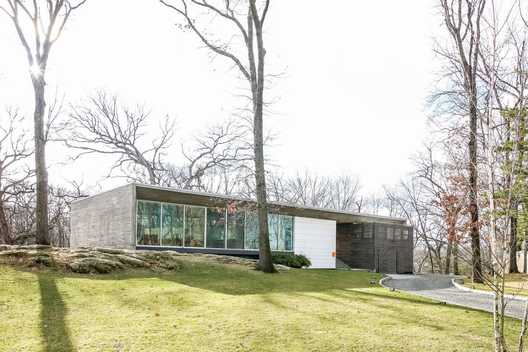 Частный односемейный дом для того Продажа на Rye Contemporary in Knob Hill 11 North Kirby Lane Rye, Нью-Йорк, 10580 Соединенные Штаты