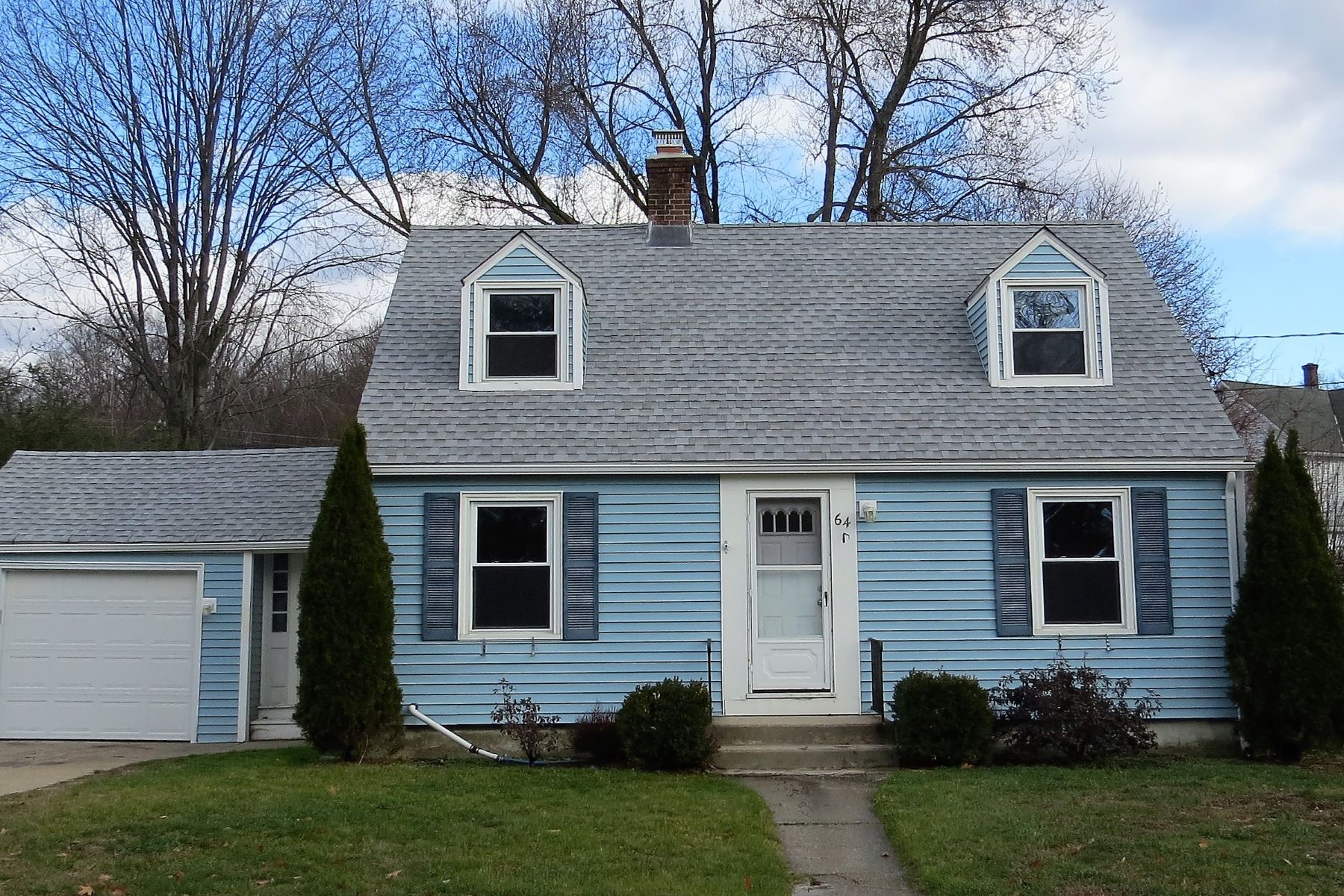Single Family Home for Sale at Adorable Cape 64 Elsie St Torrington, Connecticut 06790 United States