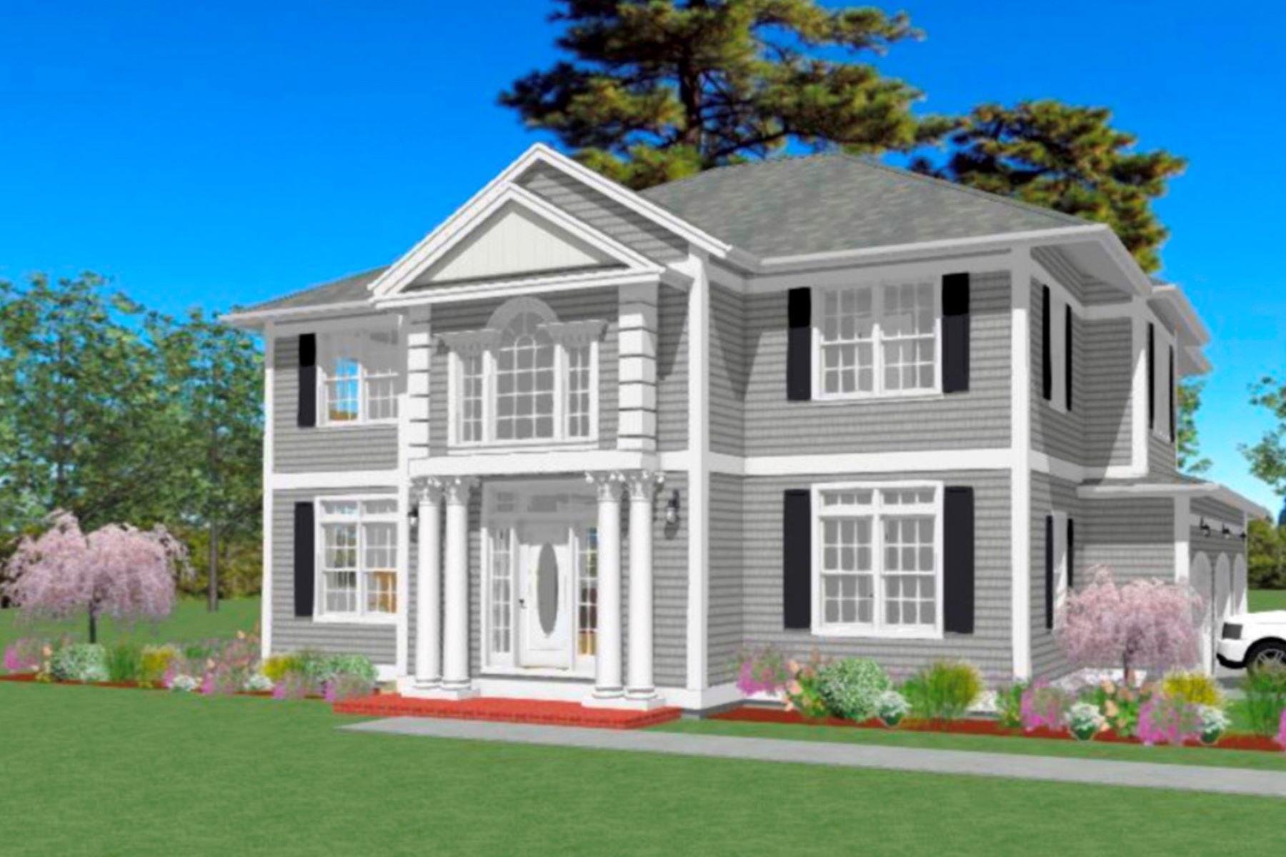 Single Family Homes para Venda às NEW CONSTRUCTION TO BE BUILT 903 Nut Plains Road, Guilford, Connecticut 06437 Estados Unidos