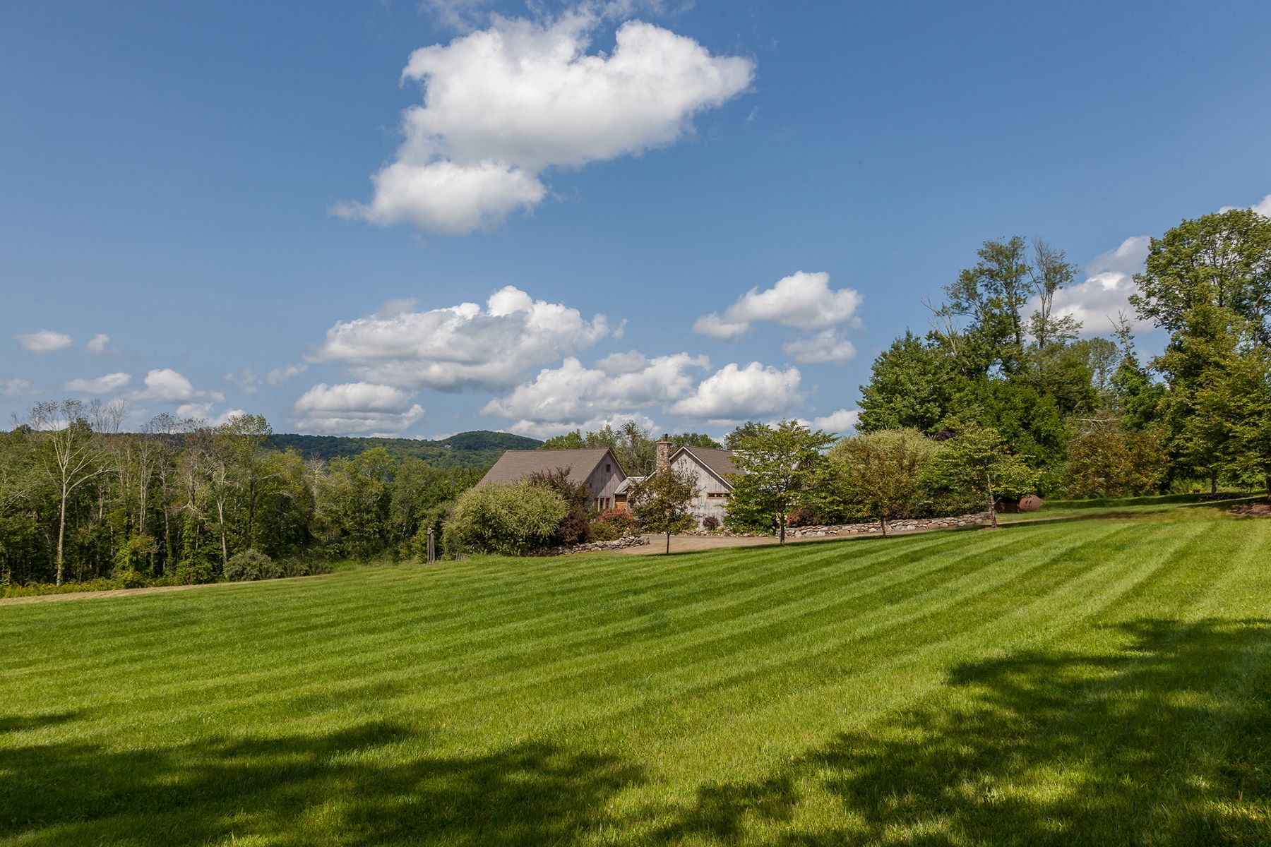 Single Family Home for Sale at Designed by Noted Artist & Studio Furniture Maker 205 Sawyer Hill Road New Milford, Connecticut 06776 United States