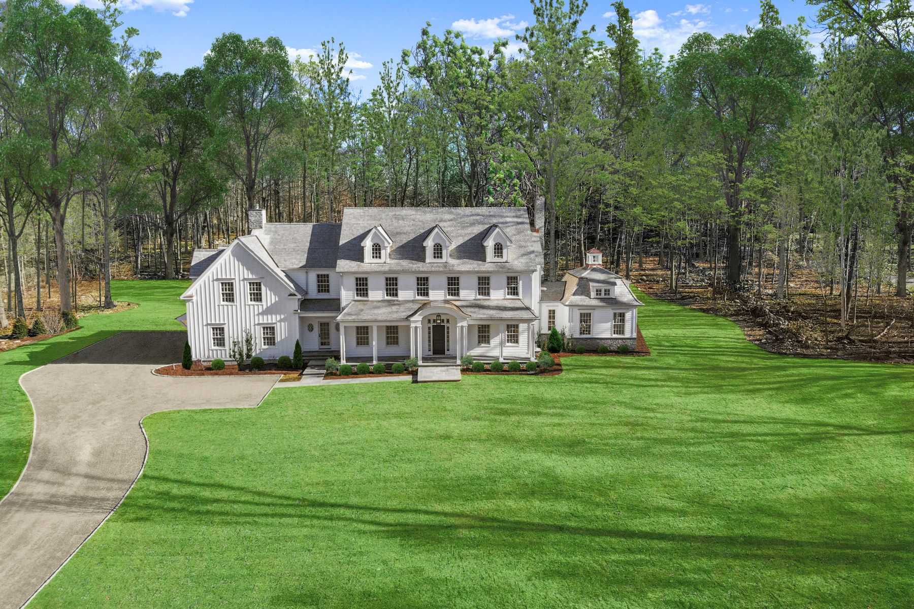 Single Family Homes for Active at 61 Horseshoe Road Darien, Connecticut 06820 United States