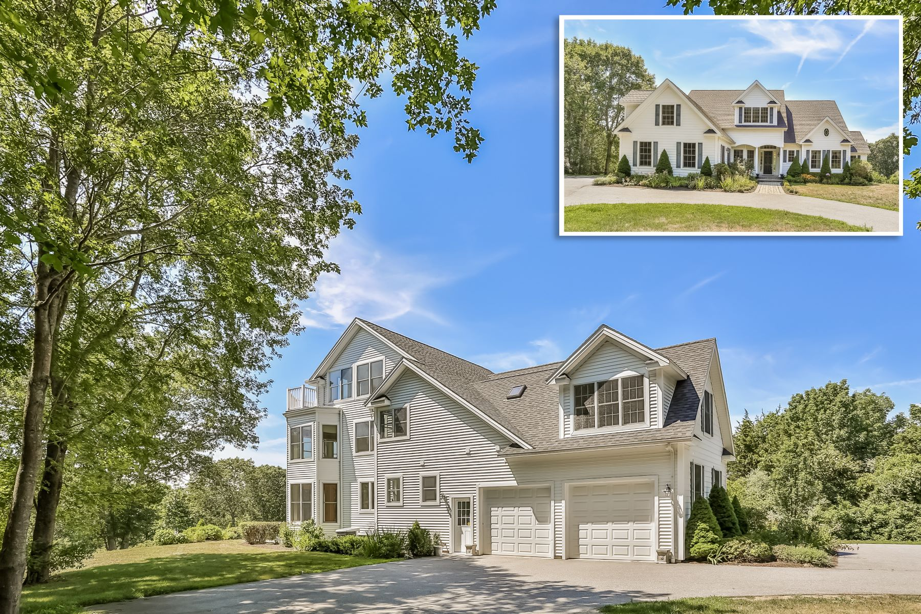 Single Family Home for Sale at Beautifully Appointed Custom Colonial 173 Montauk Avenue Stonington, Connecticut 06378 United States