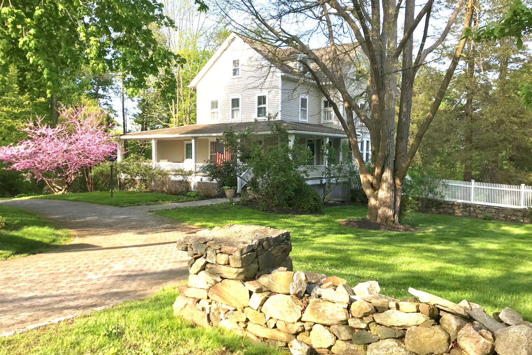 single family homes for Sale at Historic Ridgefield Treasure 50 High Ridge Avenue, Ridgefield, Connecticut 06877 United States