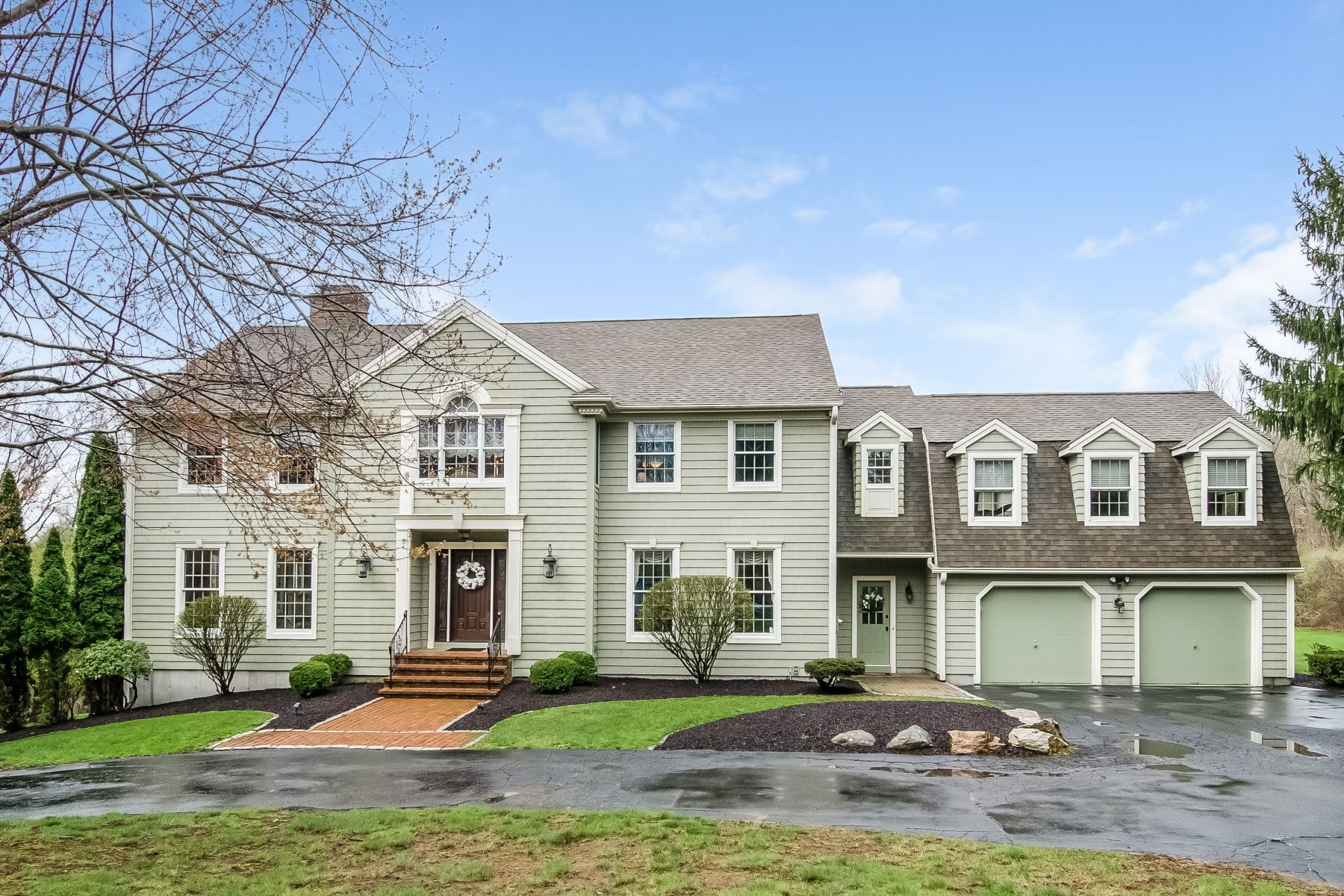 Single Family Home for Sale at Captivating New England Colonial 31 Carmel Hill Road, Woodbury, Connecticut, 06798 United States