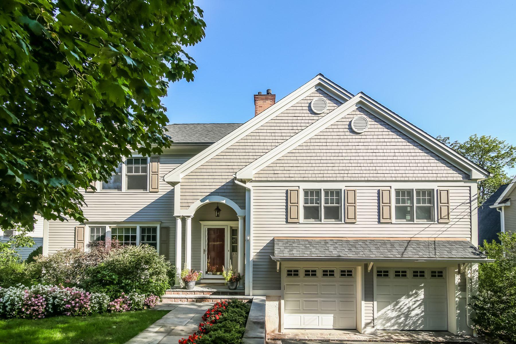 Частный односемейный дом для того Продажа на 35 Beverly Drive Rye, Нью-Йорк, 10580 Соединенные Штаты