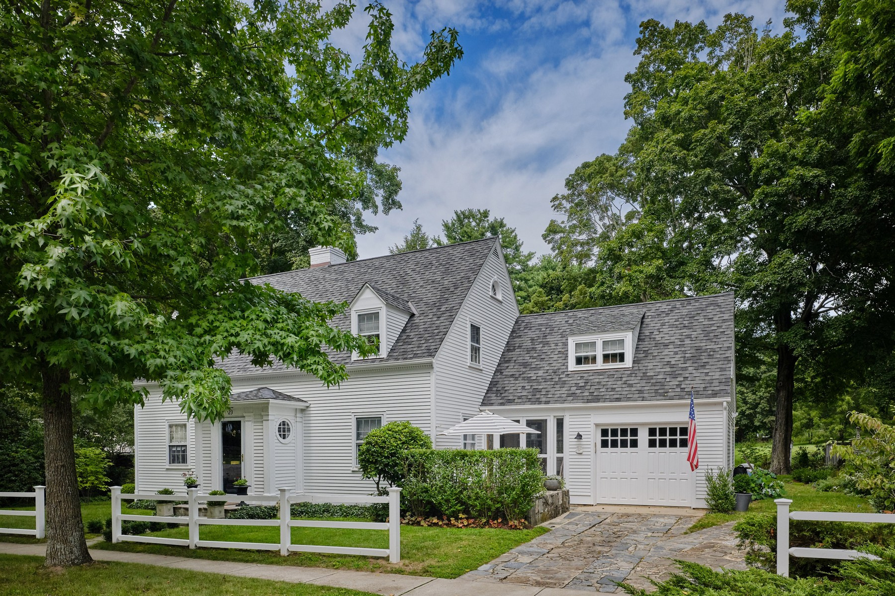 Single Family Homes for Sale at Much Admired Essex Village Cape Cod 23 West Avenue Essex, Connecticut 06426 United States