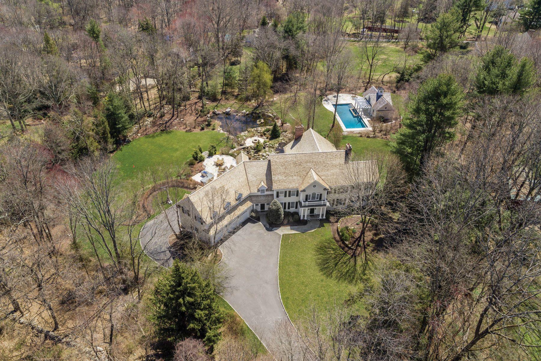 Casa Unifamiliar por un Venta en Elegant Georgian Colonial in Private Oasis 1084 Sturges Highway Fairfield, Connecticut 06824 Estados Unidos