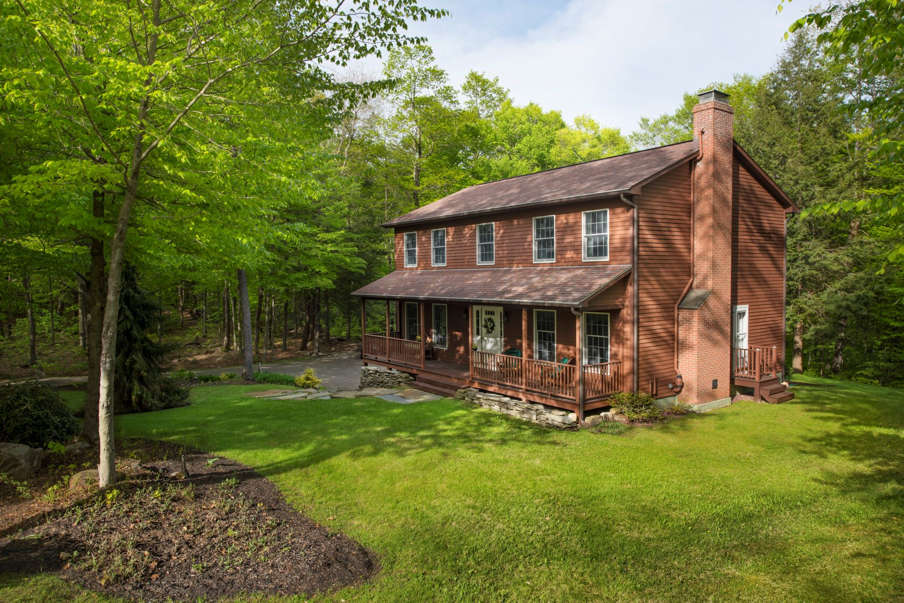 Single Family Home for Active at Picturesque Monterey Colonial 10 Heron Pond Park Monterey, Massachusetts 01245 United States