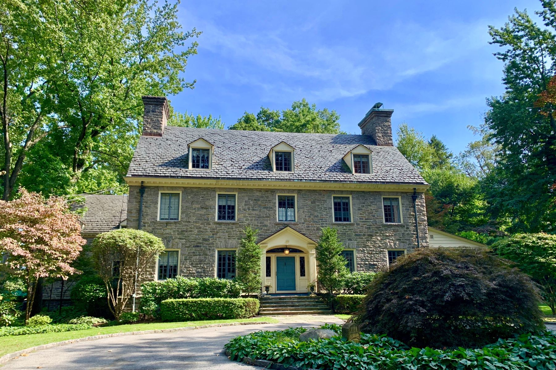 Single Family Homes for Sale at Magnificent Fieldston Georgian Revival Estate 4730 Fieldston Road Riverdale, New York 10471 United States