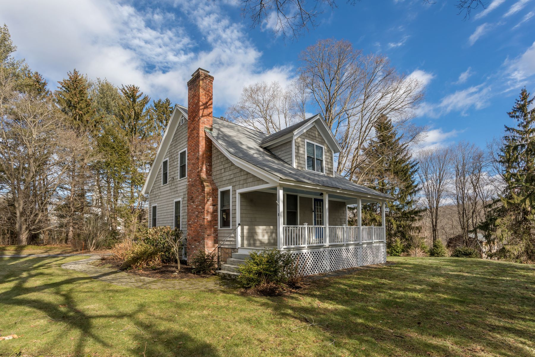 Single Family Home for Sale at Charming Village Cottage in New Preston 8 Hinckley Rd, Washington, Connecticut, 06777 United States