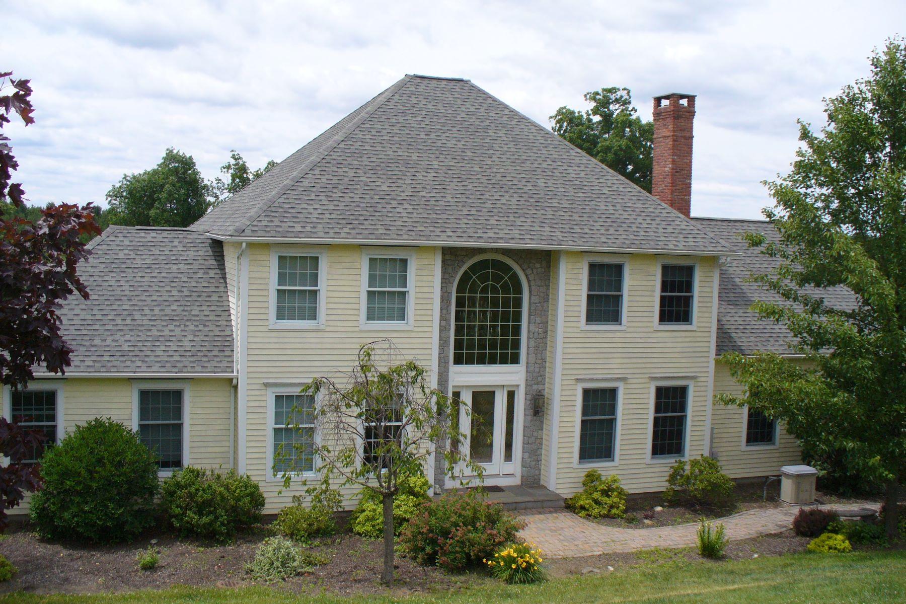 Maison unifamiliale pour l Vente à Custom Built Colonial 220 Old Middle St Goshen, Connecticut, 06756 États-Unis