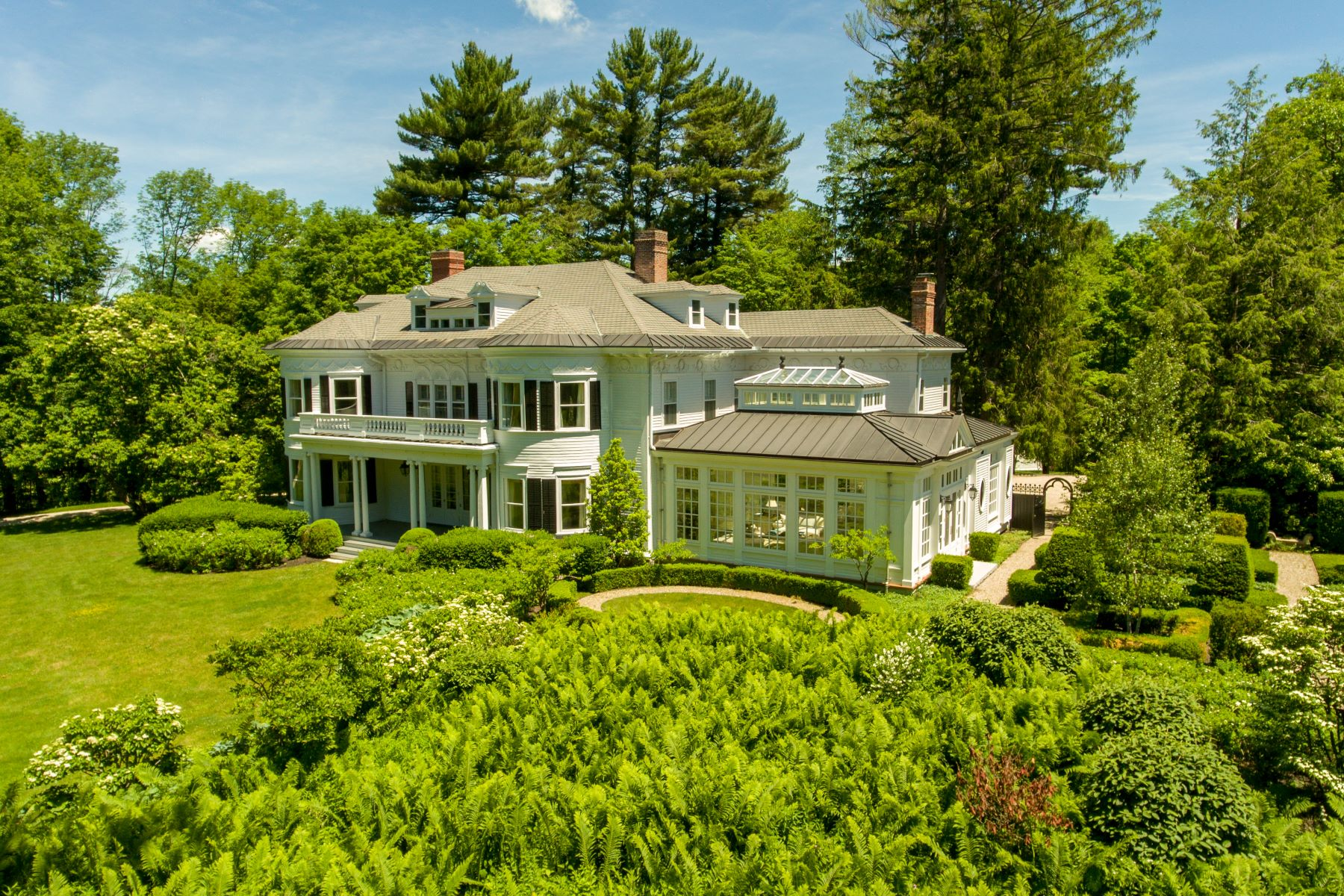 Single Family Home for Sale at Thistlewood - A Timeless & Classic Berkshire Cottage 151 Walker St Lenox, Massachusetts 01240 United States