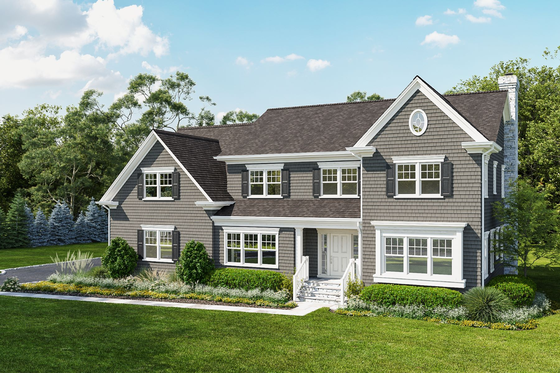 Single Family Homes for Active at 4 Richardson Lane Harrison, New York 10528 United States