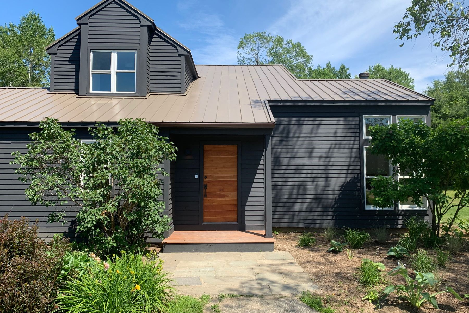 Single Family Homes for Active at Contemporary Renovated Home with Views 1 White Birch Rd Great Barrington, Massachusetts 01230 United States
