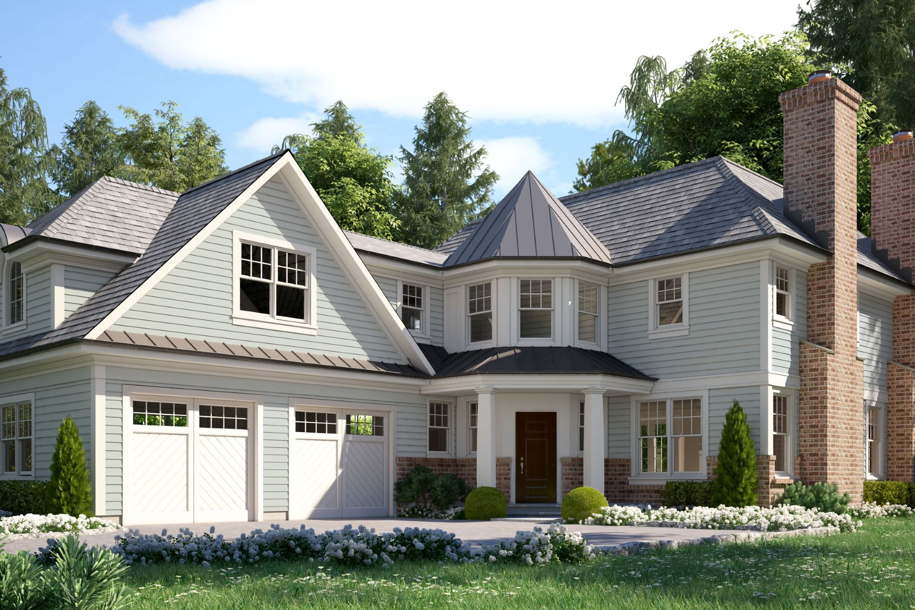 Single Family Homes for Active at 1 Patricia Court Harrison, New York 10528 United States