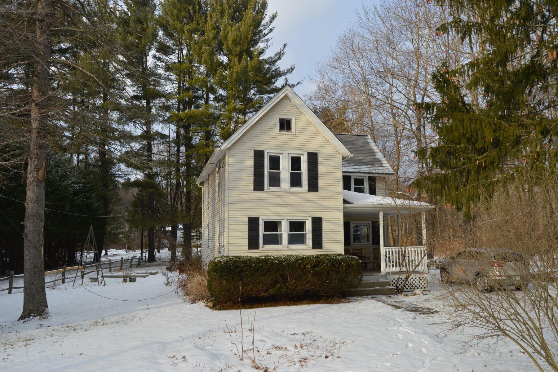 独户住宅 为 销售 在 Charming Bantam Village Colonial 1020 Bantam Road, 利奇菲尔德, 康涅狄格州, 06750 美国