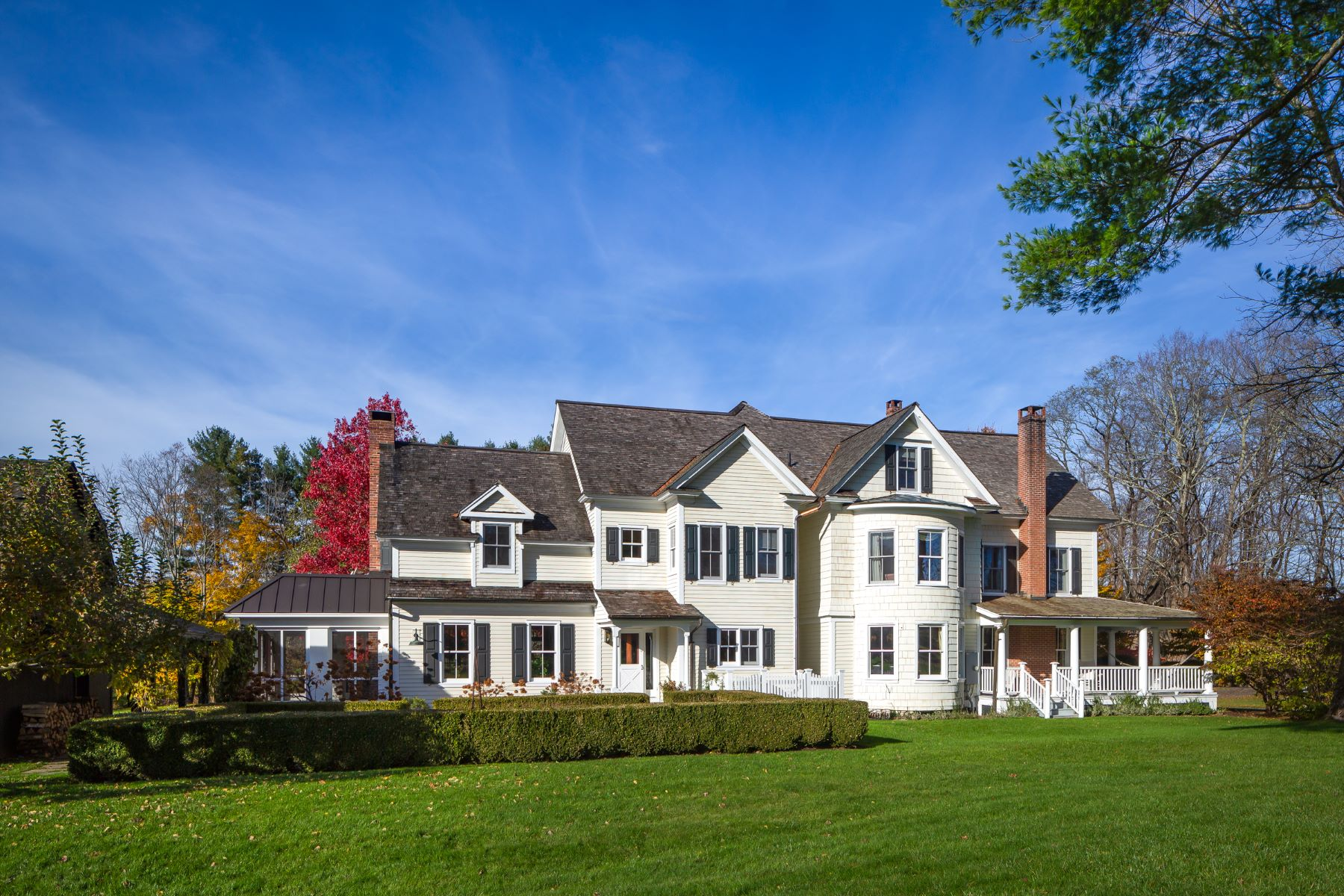 Single Family Homes のために 売買 アット One of the Great Estates: Taconic Farm 168 Taconic Road, Salisbury, コネチカット 06068 アメリカ