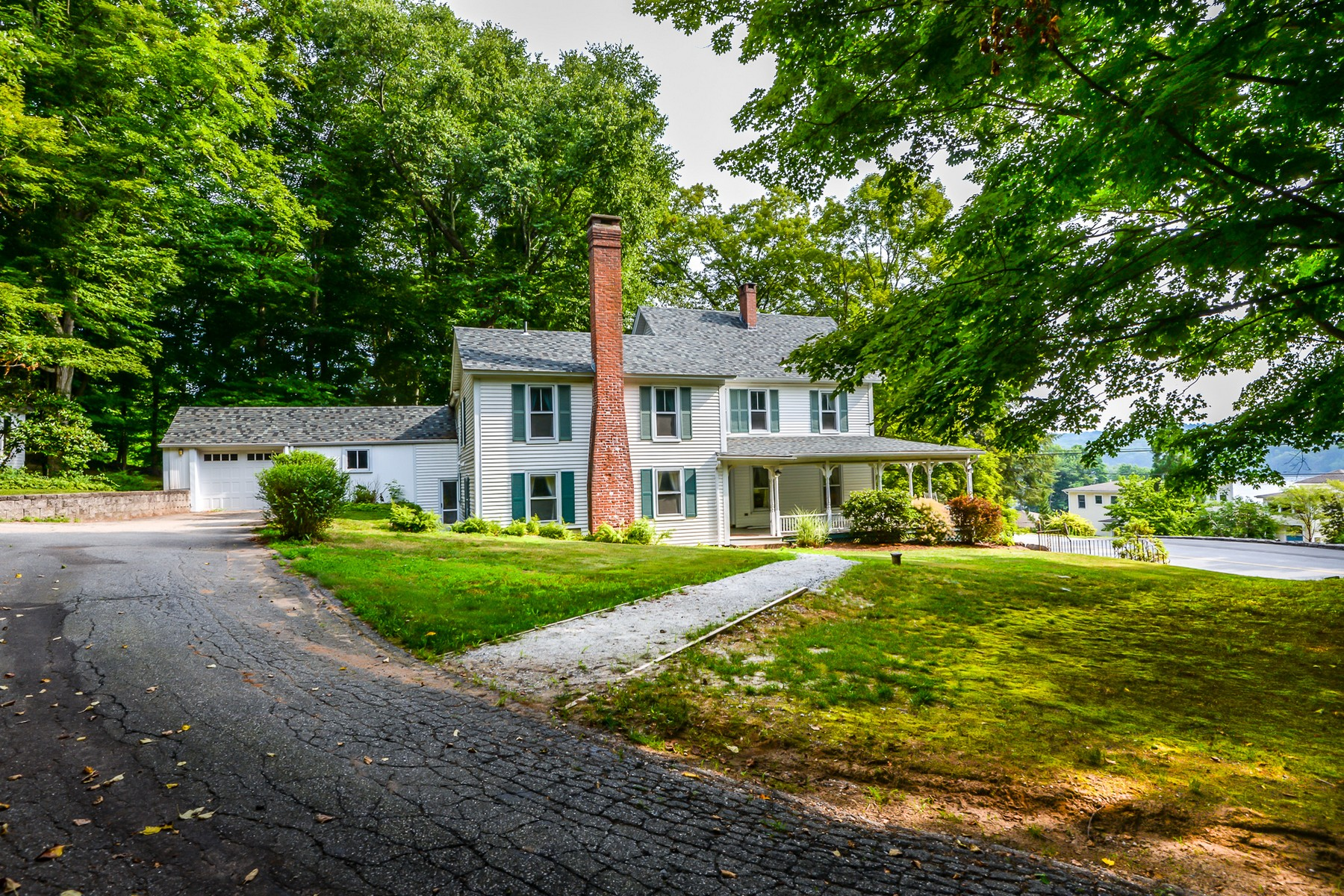 open-houses property at Charming Antique with Ct River Views
