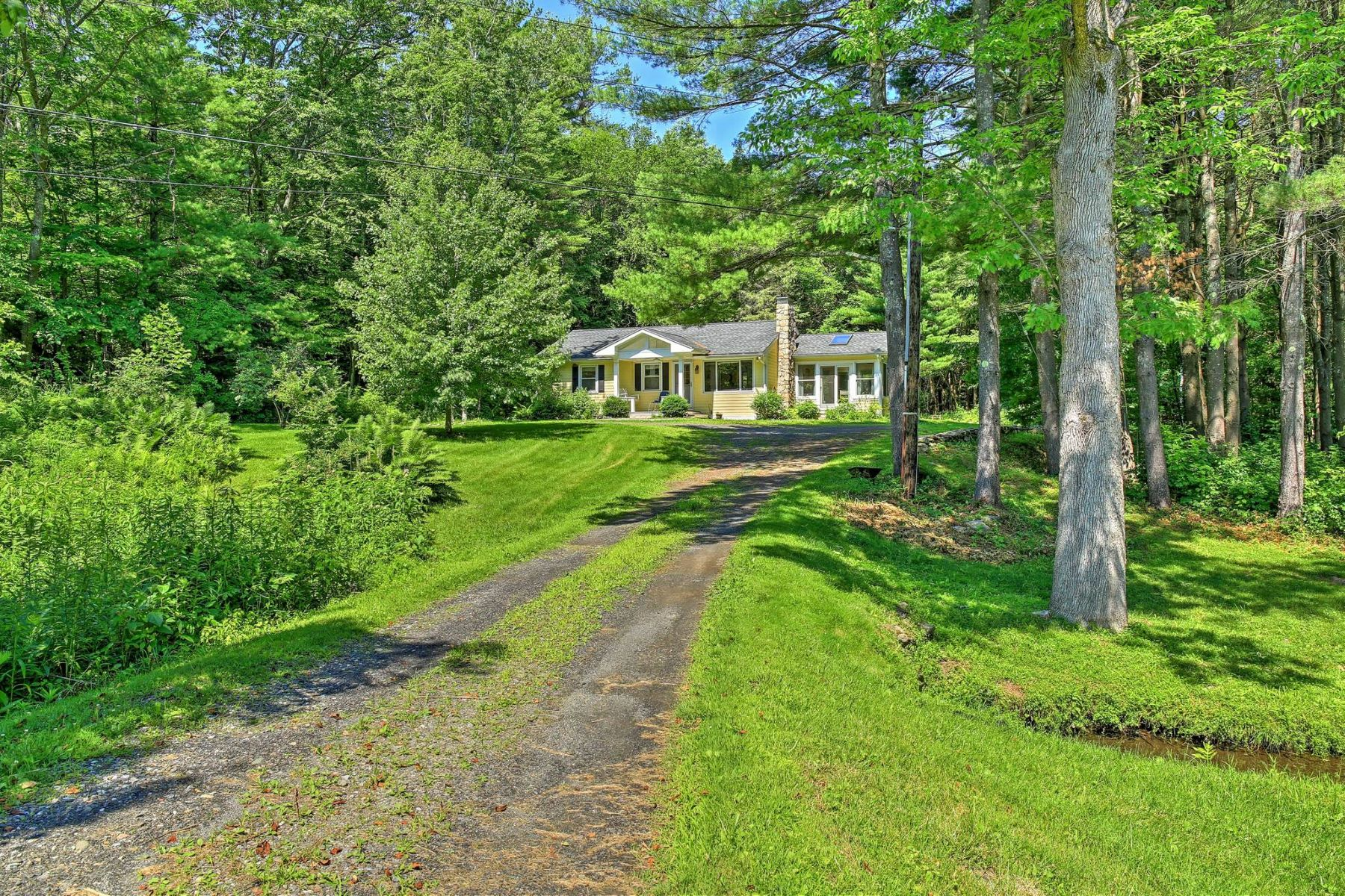 Single Family Home for Active at Perfect Private Country Retreat 108 East Alford Rd West Stockbridge, Massachusetts 01266 United States