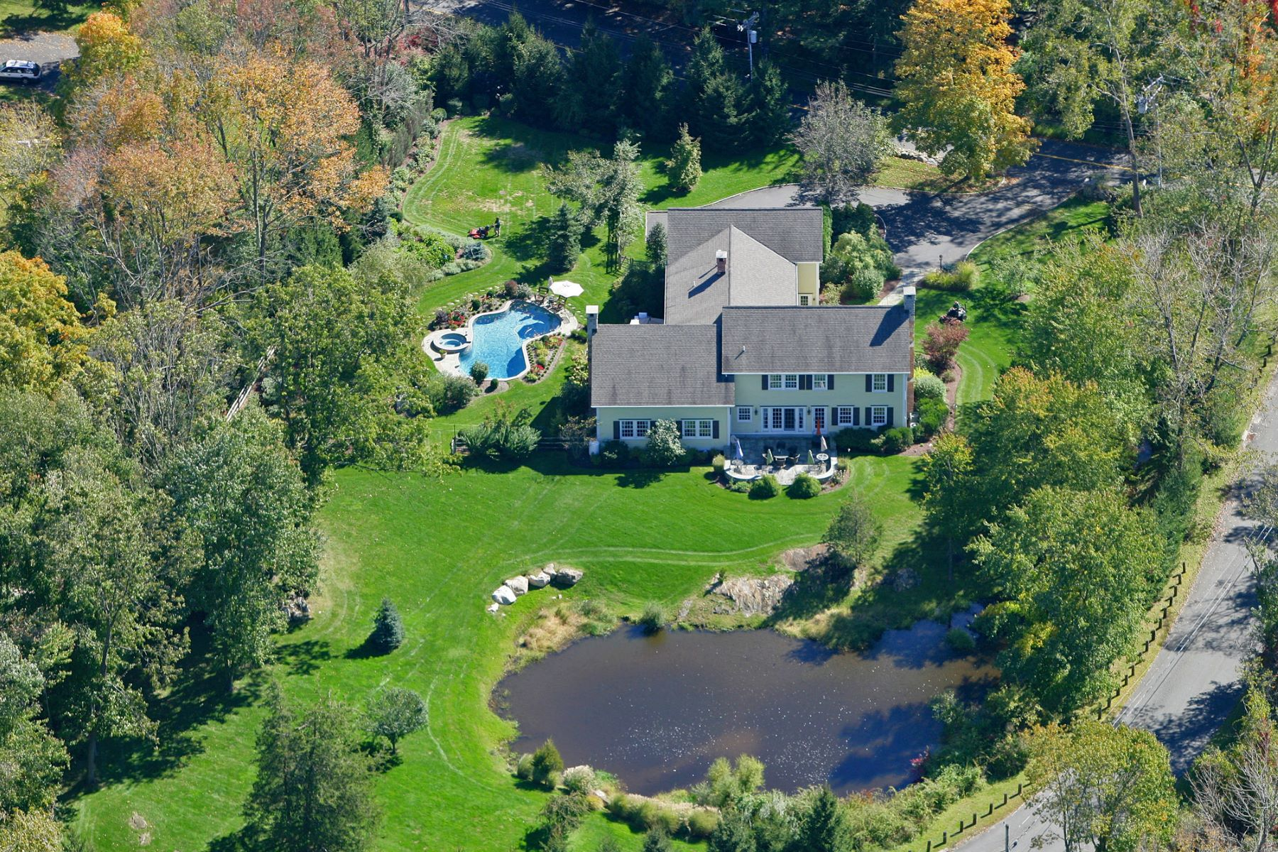 Single Family Home for Sale at Exceptional & Unique 11 Diamond Hill Road Redding, Connecticut 06896 United States
