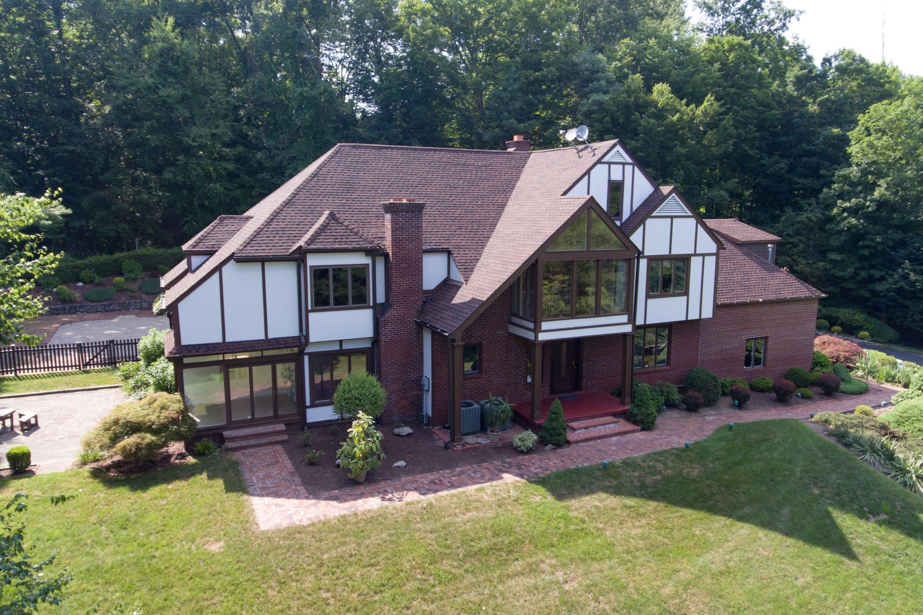 Single Family Home for Sale at Beautifully Appointed Contemporary Tudor Style Home 14 Signal Hill Road Brookfield, Connecticut 06804 United States