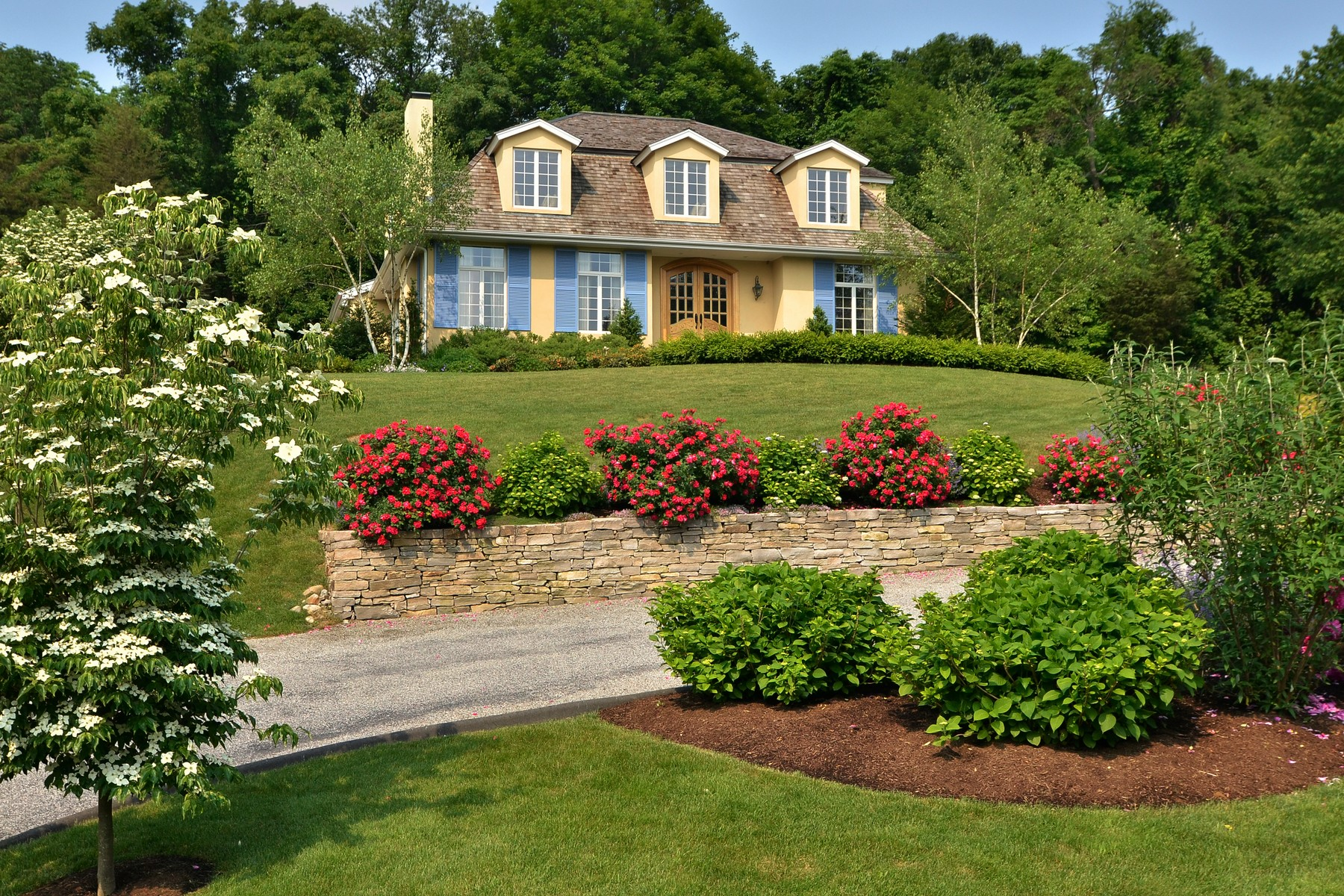 Single Family Home for Sale at A Perfect, Private Retreat Awaits You 67-2 Wig Hill Road, Chester, Connecticut, 06412 United States