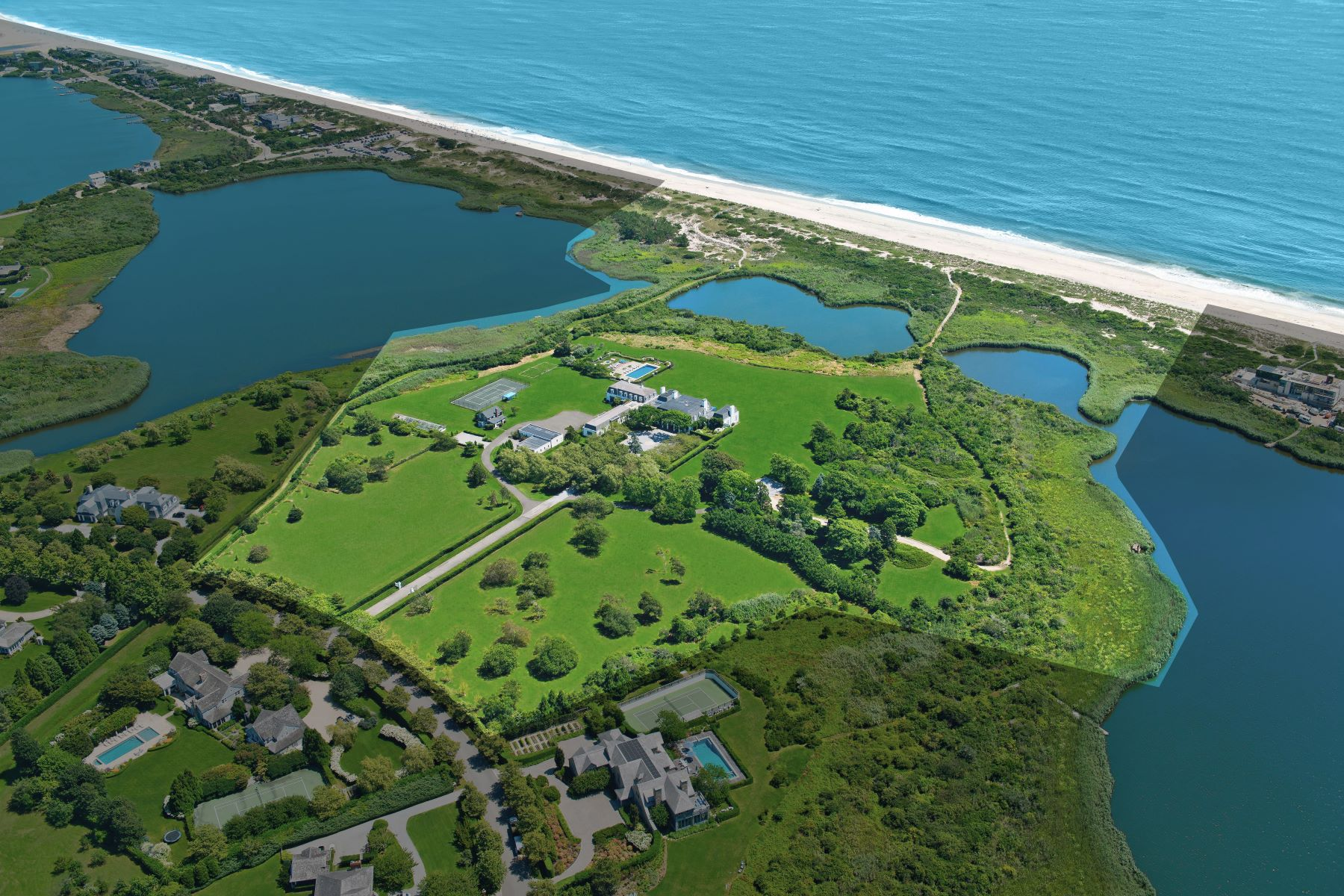 Property for Sale at Oceanfront Southampton Estate 90 Jule Pond Drive, Southampton, New York 11968 United States
