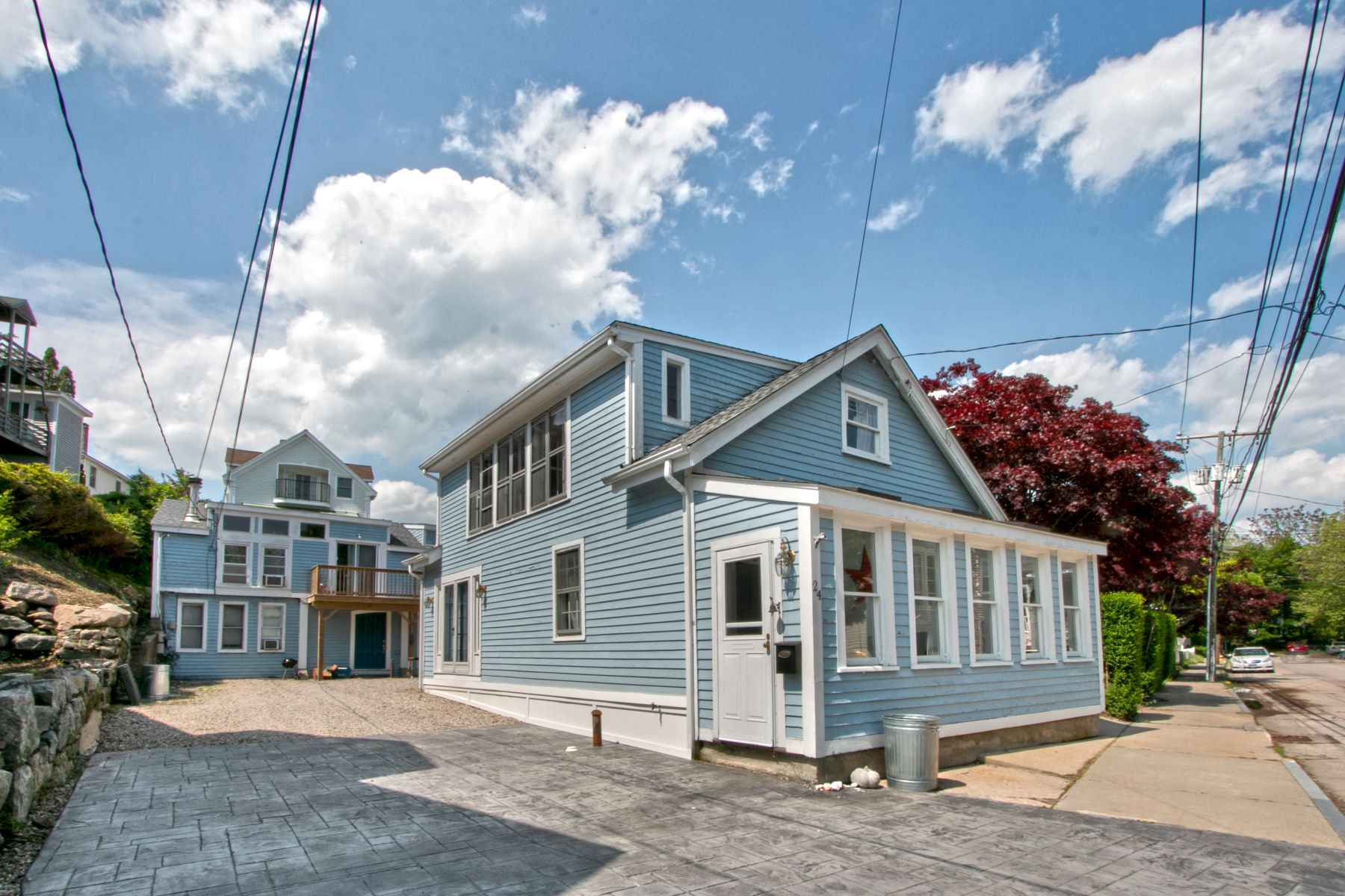 multi-family homes for Sale at Stonington Borough, Just a Walk to Shops 24-26 Elm Street, Stonington, Connecticut 06378 United States