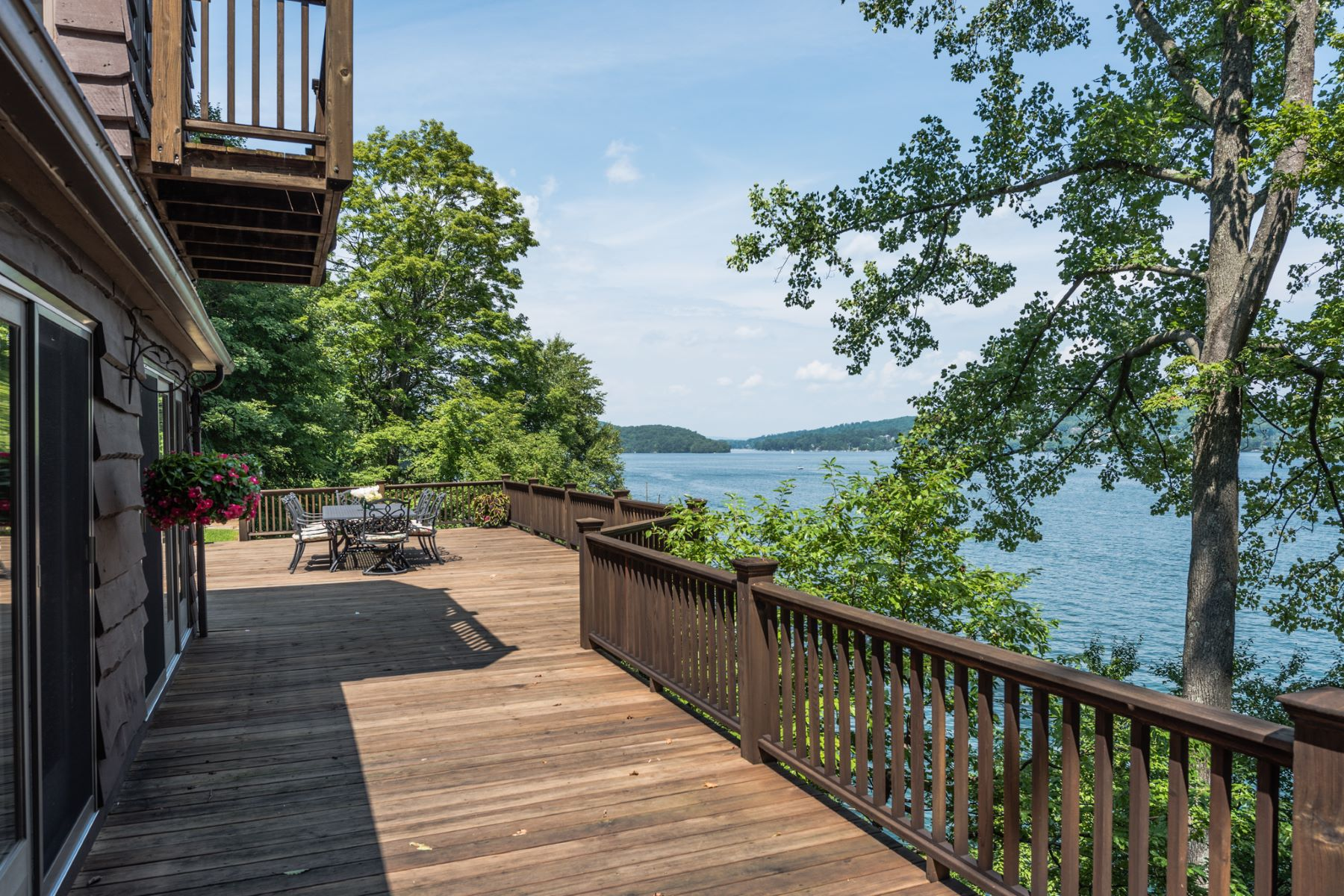 Single Family Home for Sale at Enchanting Candlewood Lakefront Property New Fairfield, Connecticut 06812 United States