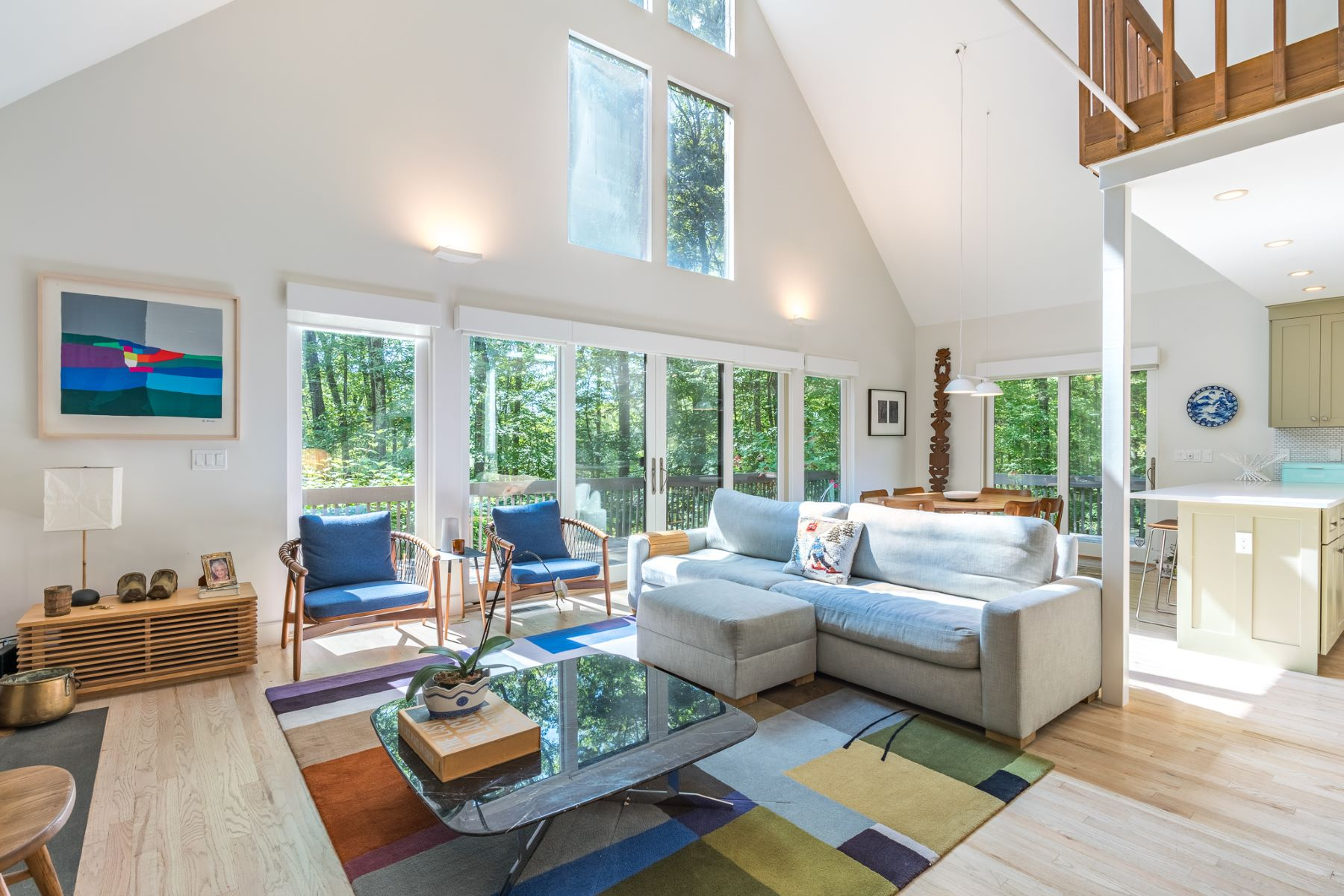 Single Family Homes for Sale at Salisbury Contemporary 33 Westmount Road Salisbury, Connecticut 06068 United States