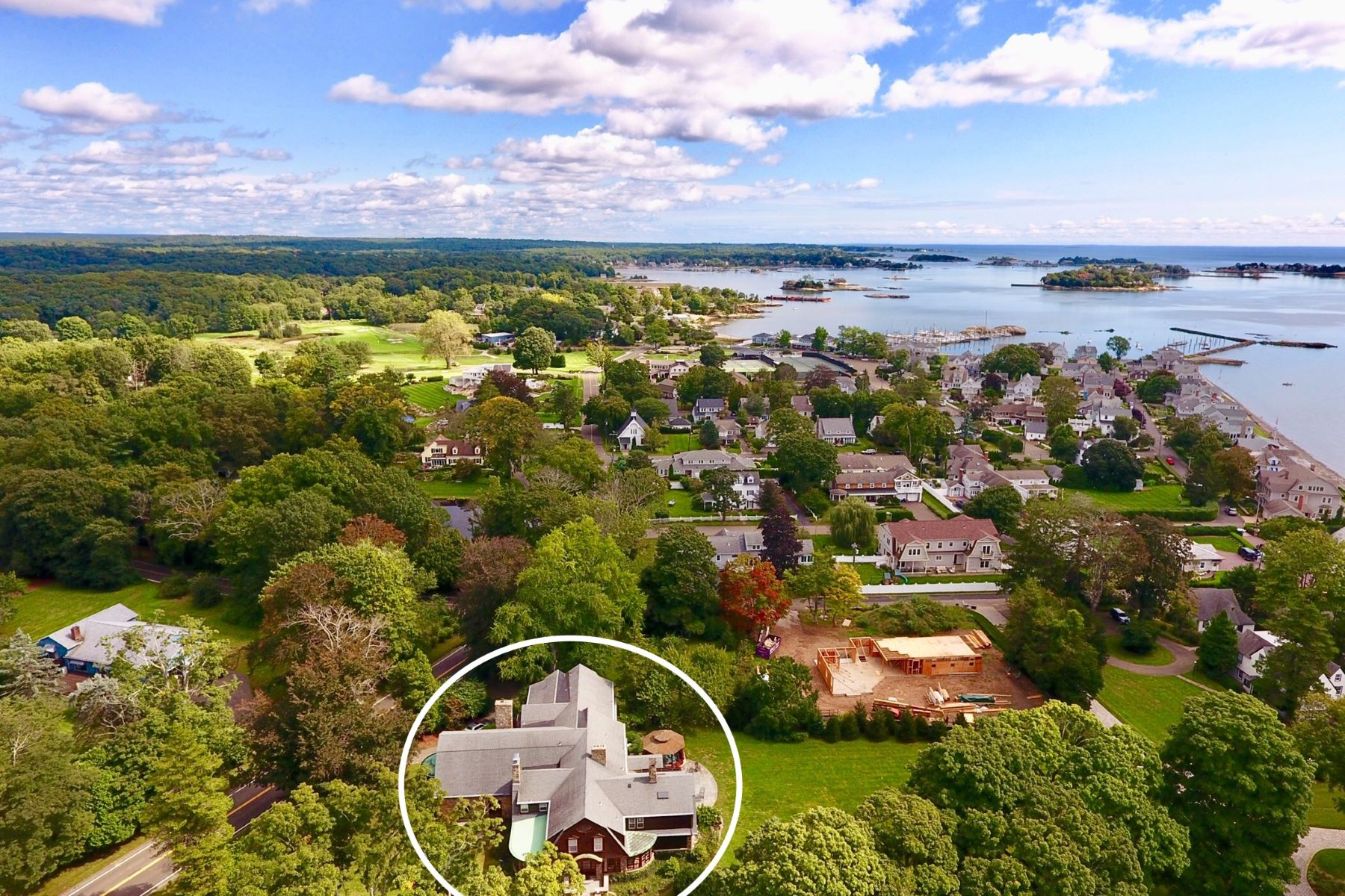 Single Family Homes for Sale at 265 Pine Orchard Road Branford, Connecticut 06405 United States